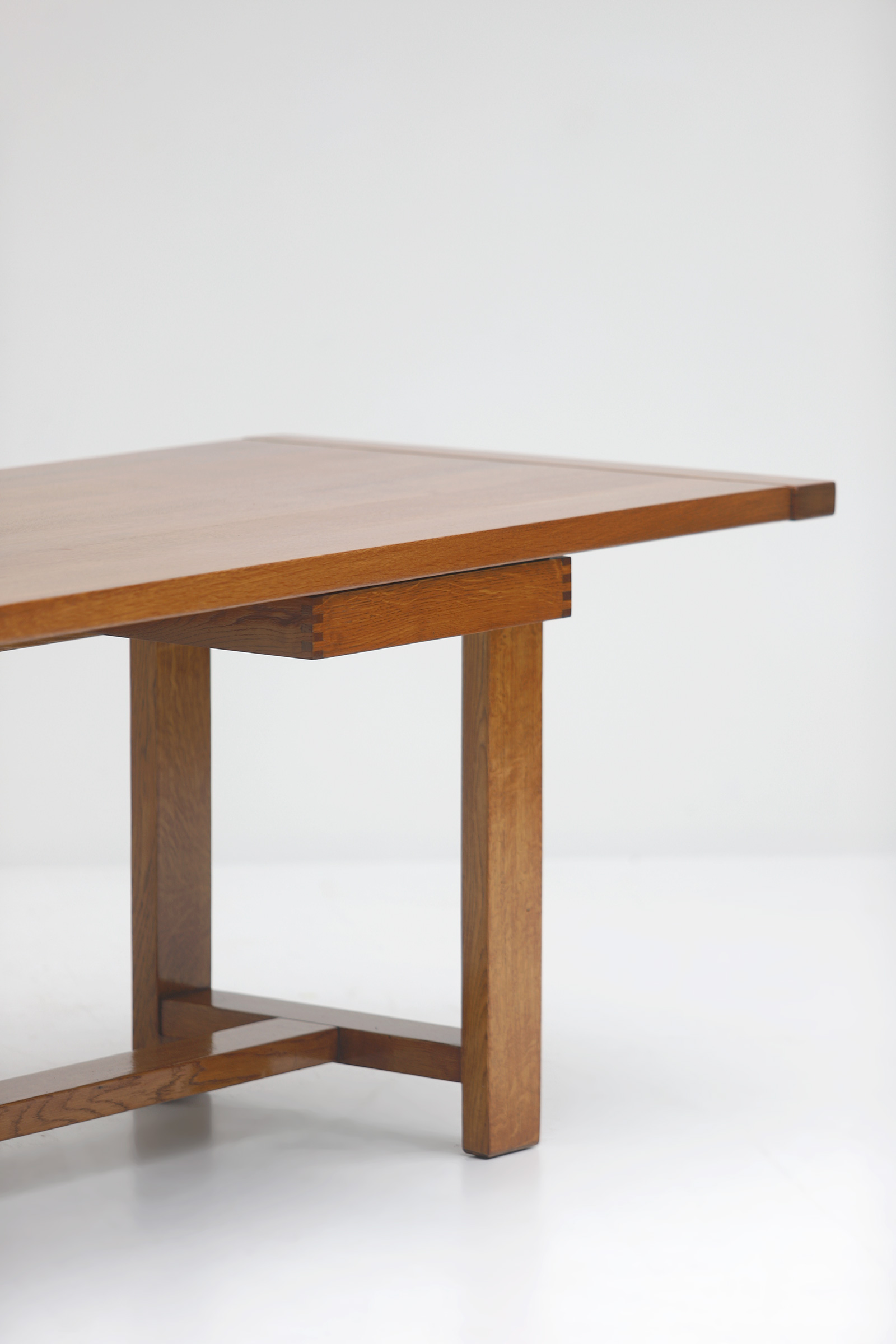 Oak Dining Table image 6