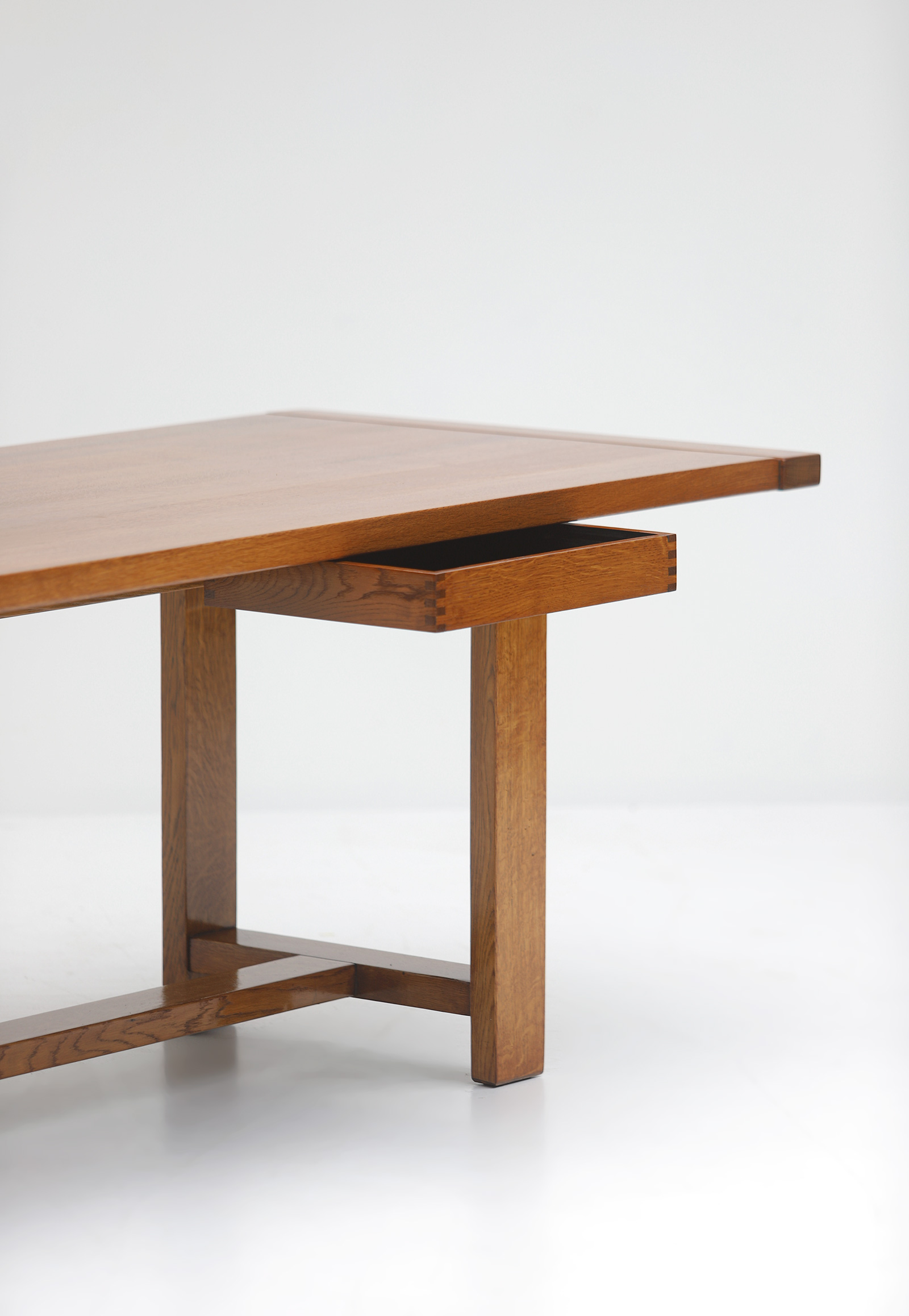 Oak Dining Table image 7