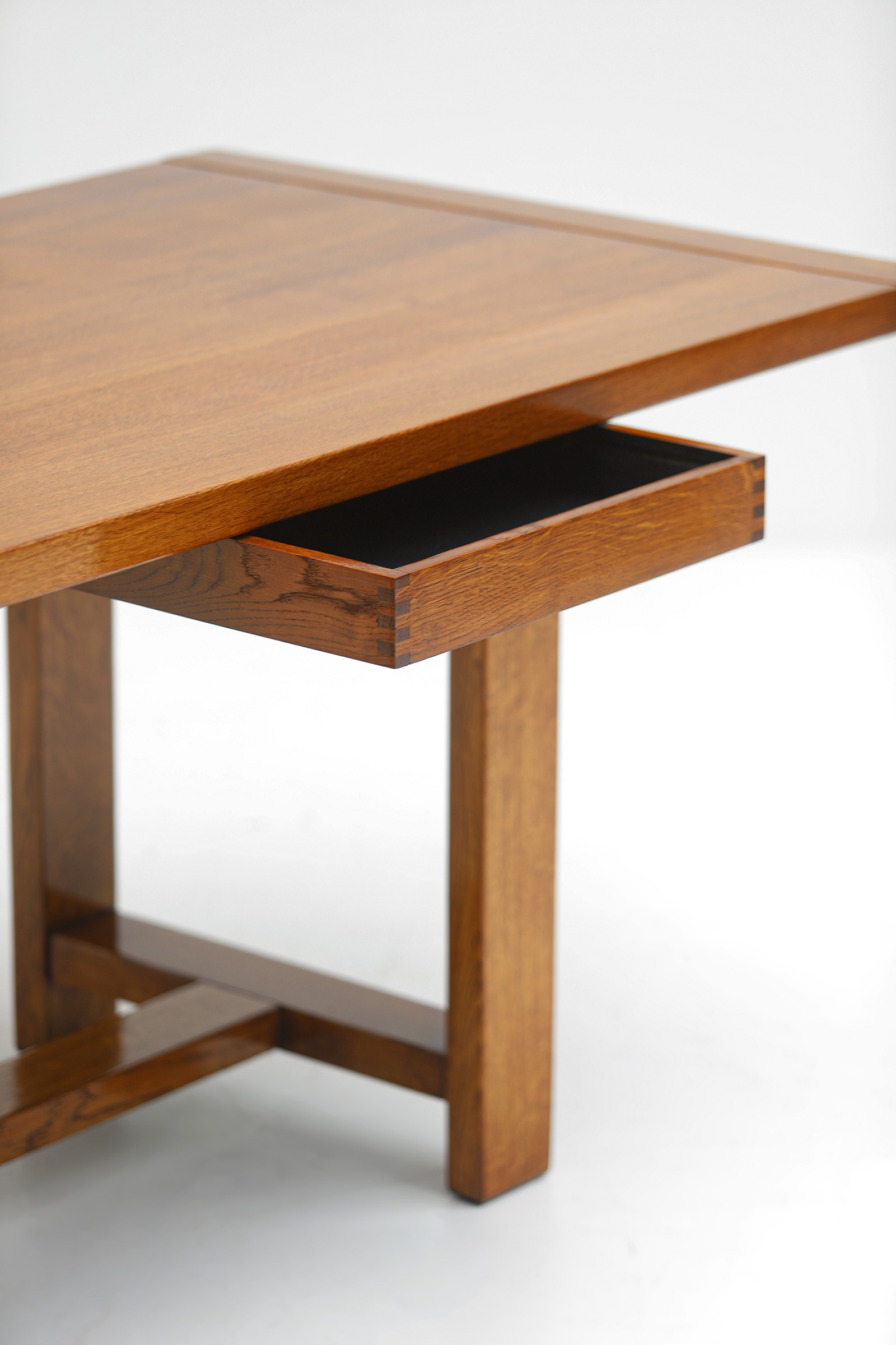 Oak Dining Table image 8