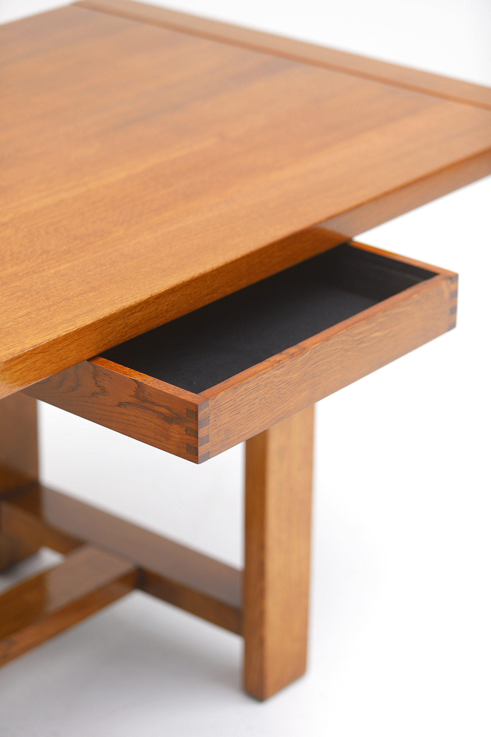 Oak Dining Table image 9