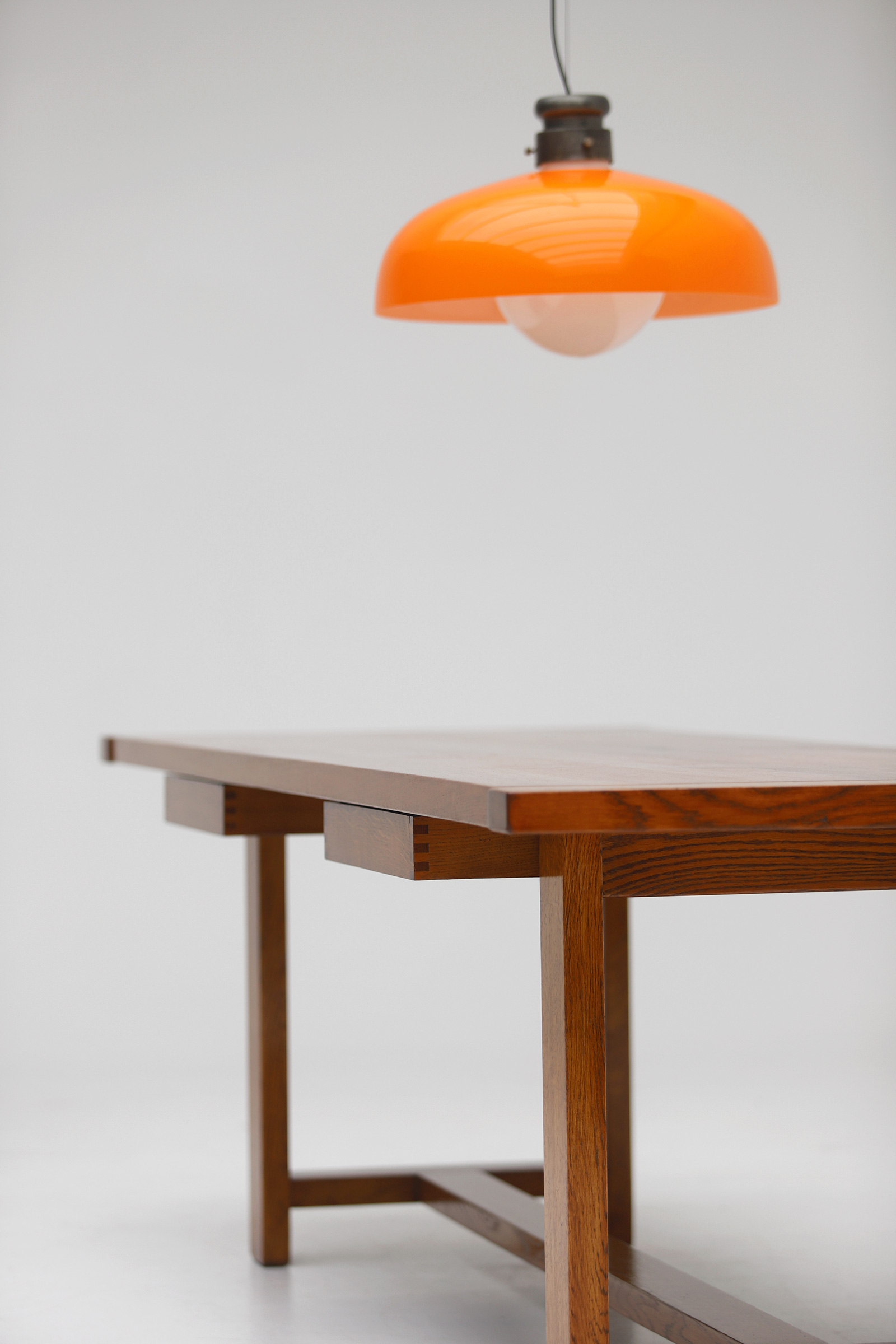 Oak Dining Table image 12