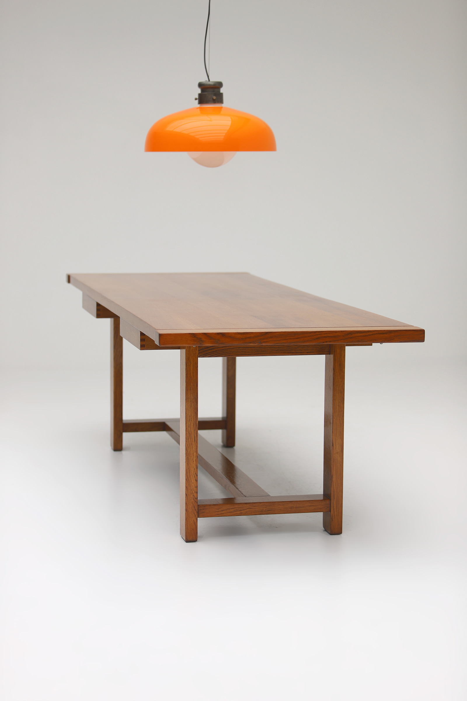 Oak Dining Table image 11