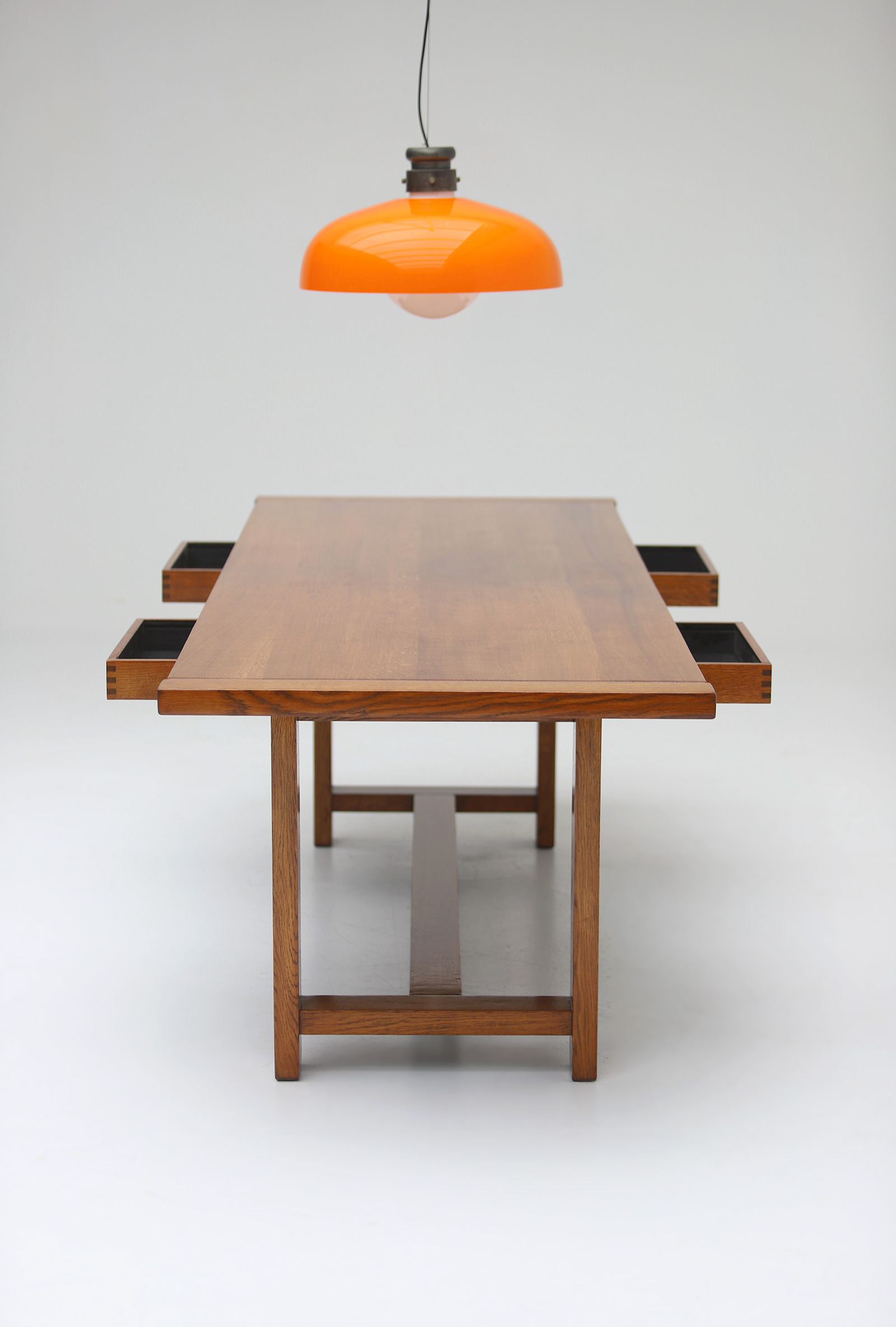 Oak Dining Table image 13
