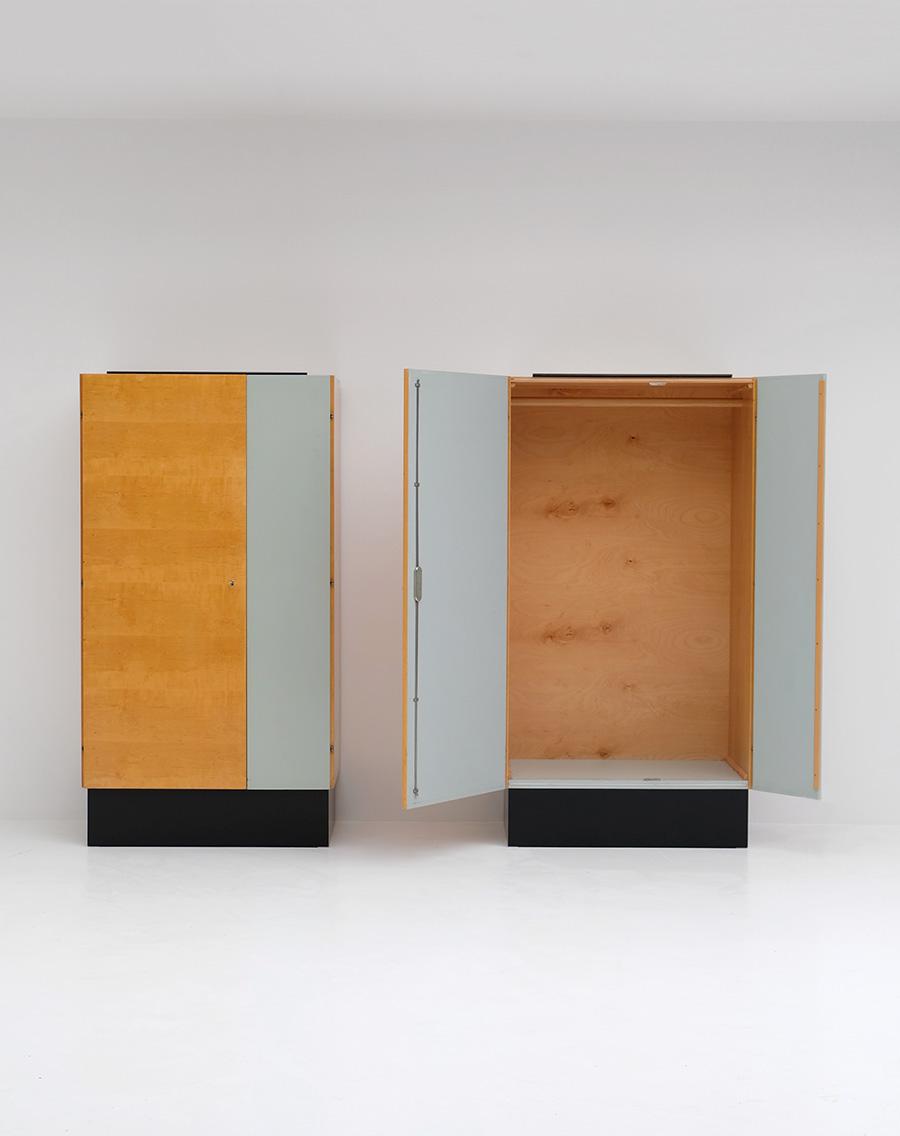 Pair of Modernist 50s Wardrobesimage 2