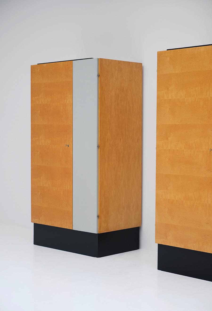 Pair of Modernist 50s Wardrobesimage 7