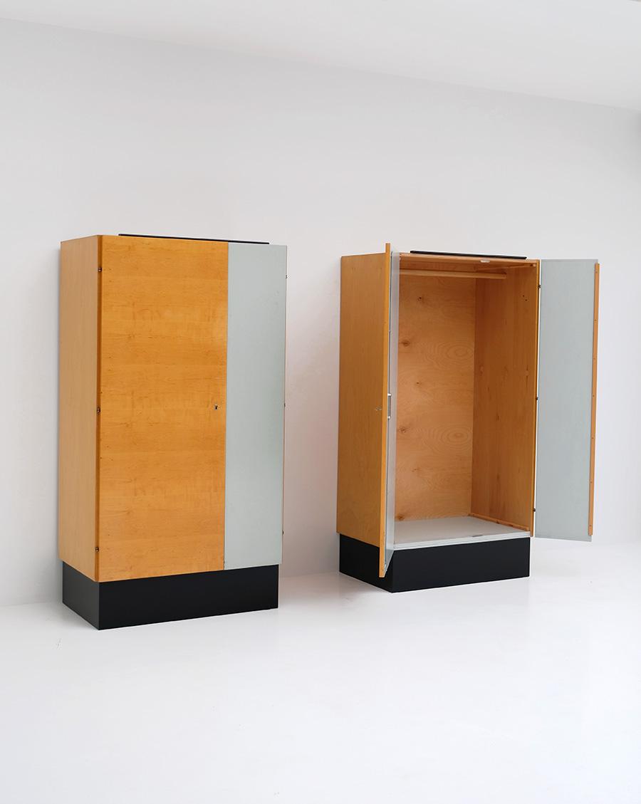Pair of Modernist 50s Wardrobesimage 6