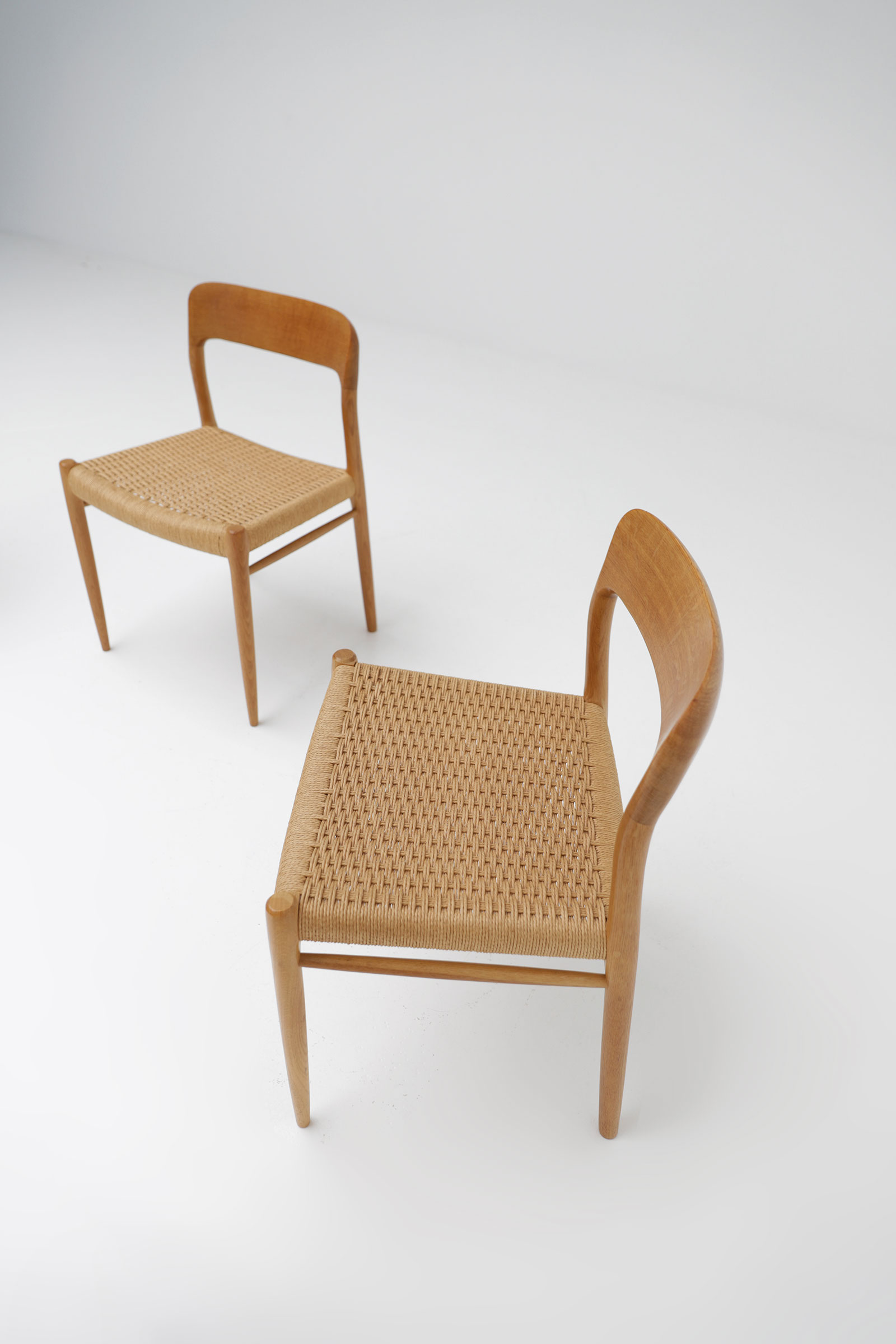 Niels Moller Chairs Model 75