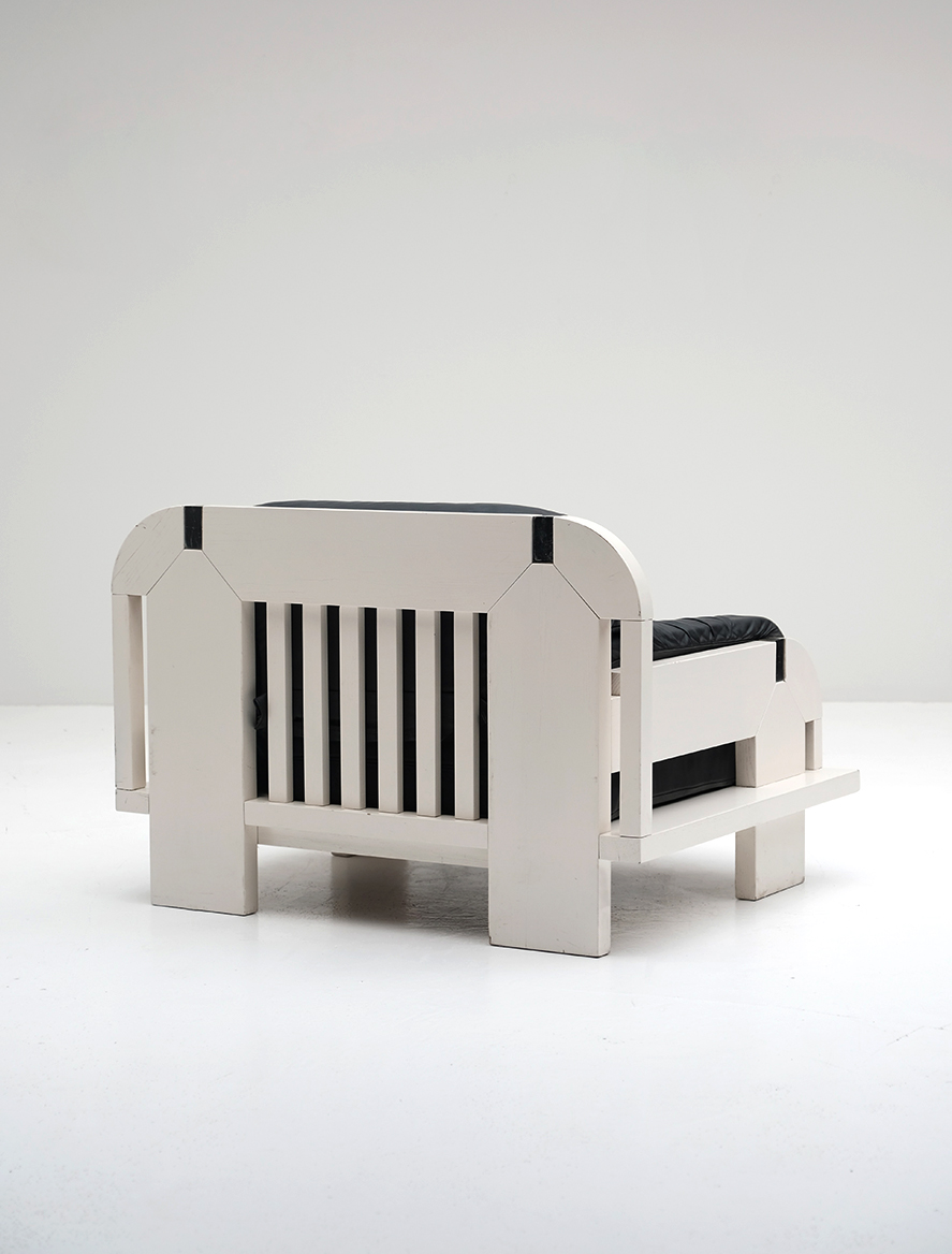 Peter Heuvelmans for Nova Ecclecta Massive Side Chair