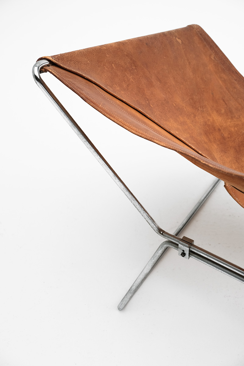Pierre Paulin Original Leather Annau Chair image 4