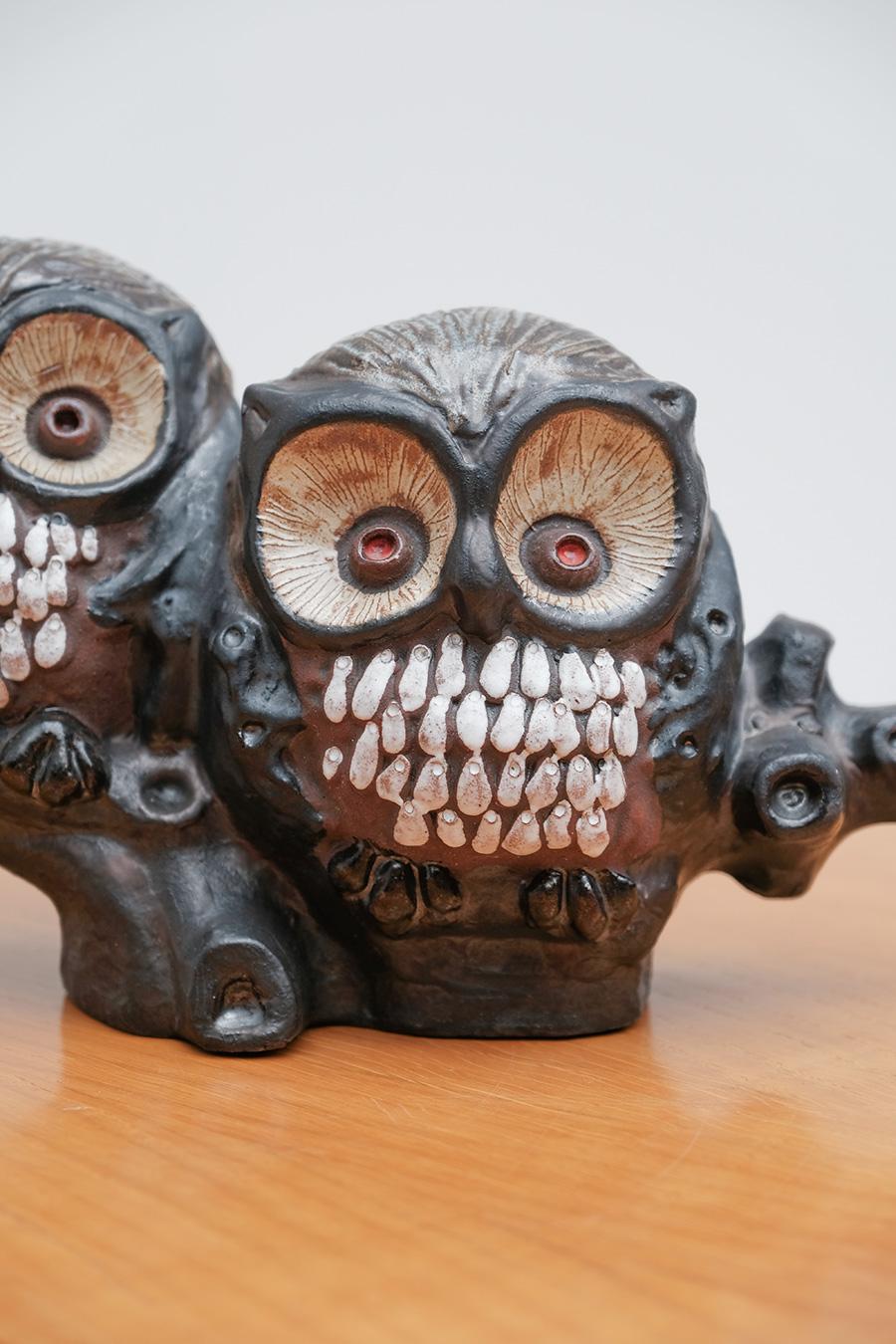 Ceramic Owls 1960s