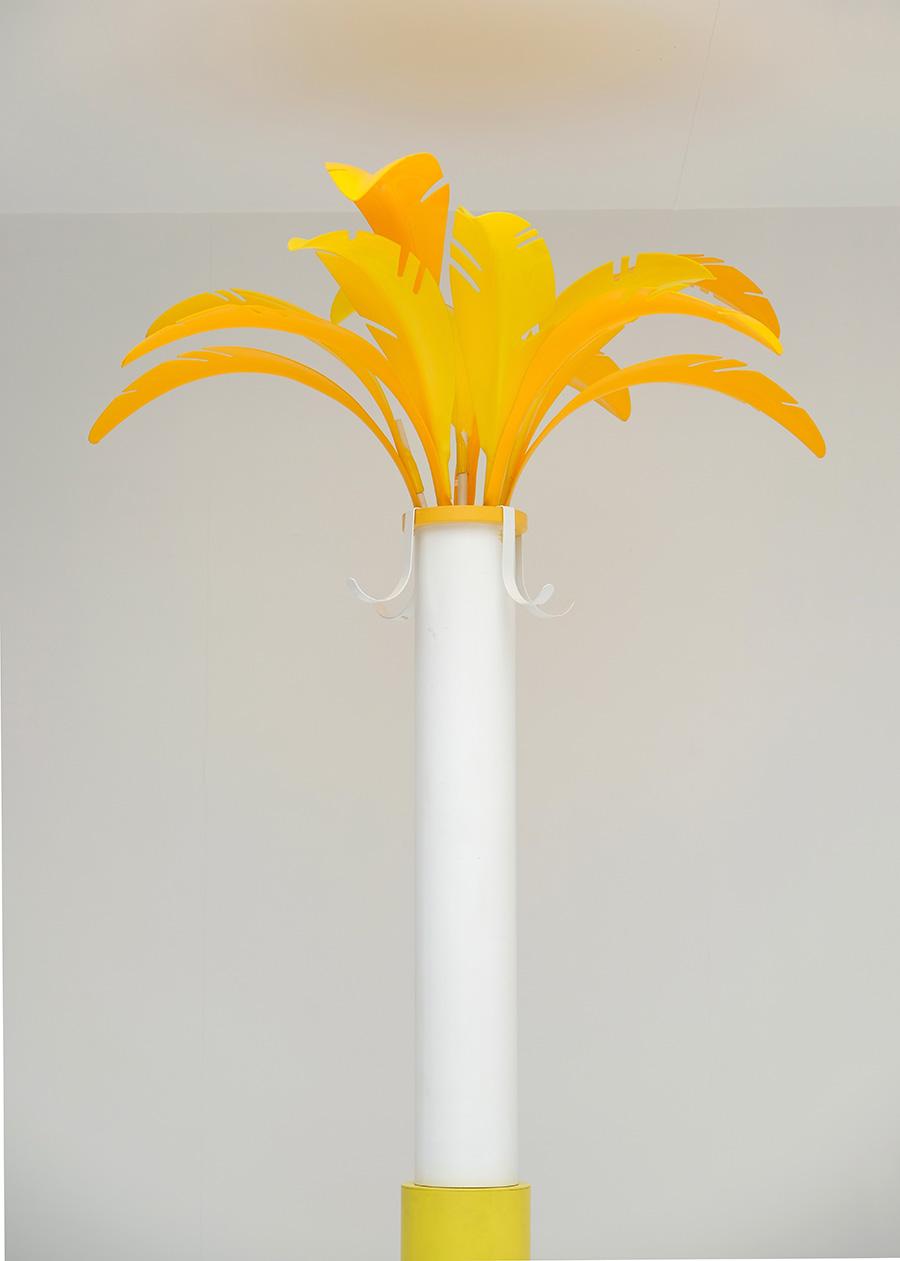 Colorful palm tree coat hangerimage 2
