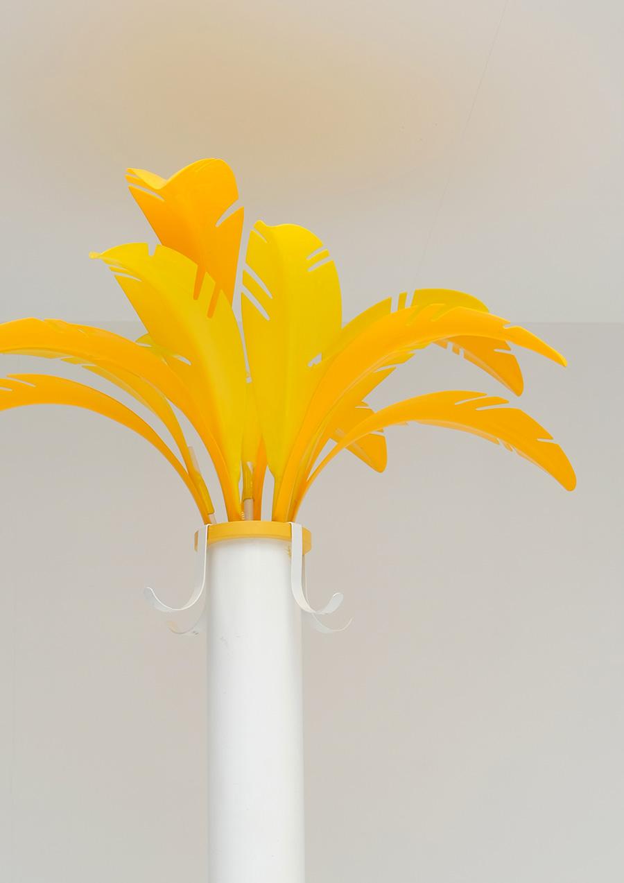 Colorful palm tree coat hangerimage 5