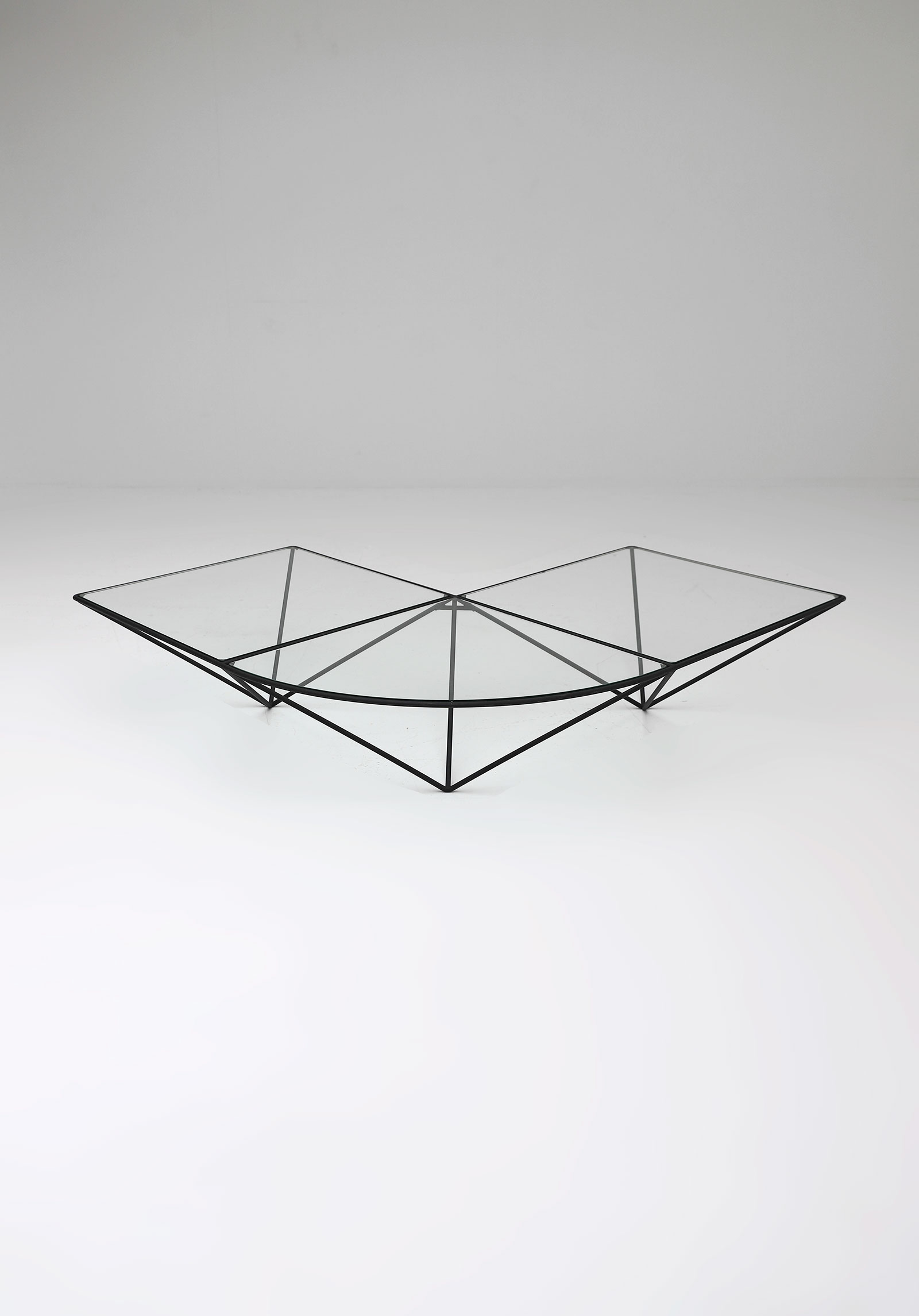 Glass corner coffee table Unknown, 1980simage 2