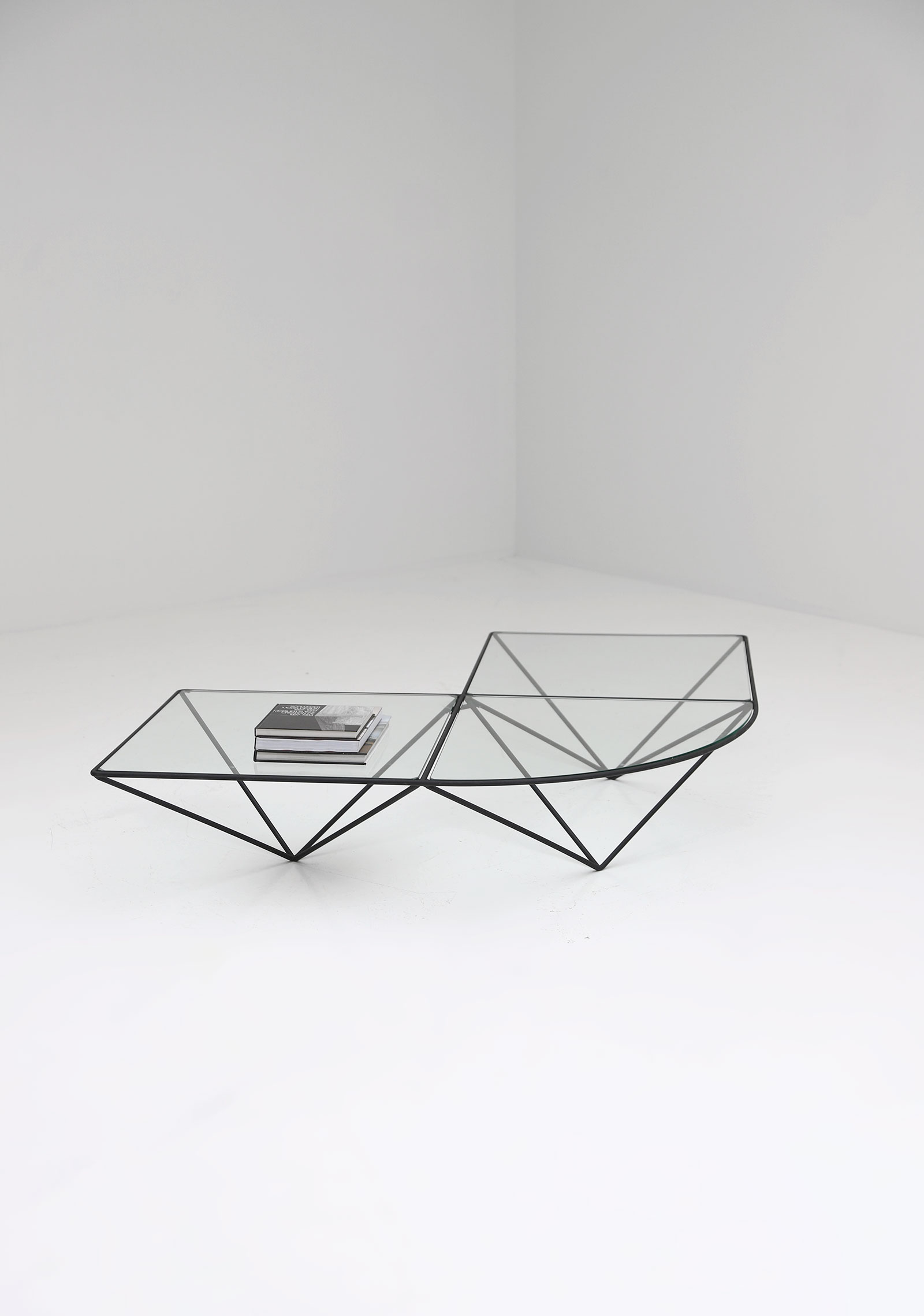 Glass corner coffee table Unknown, 1980simage 5