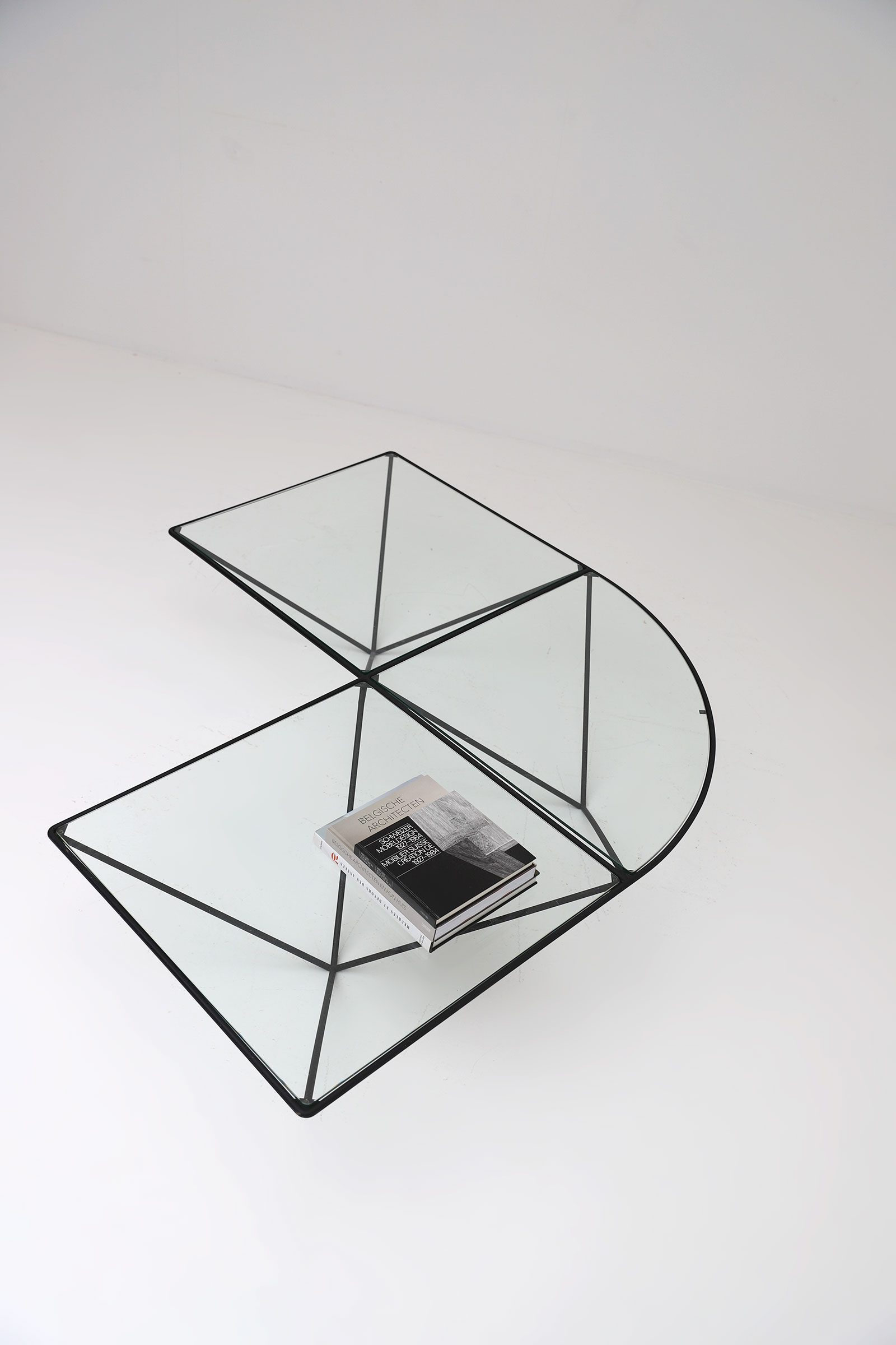 Glass corner coffee table Unknown, 1980simage 8