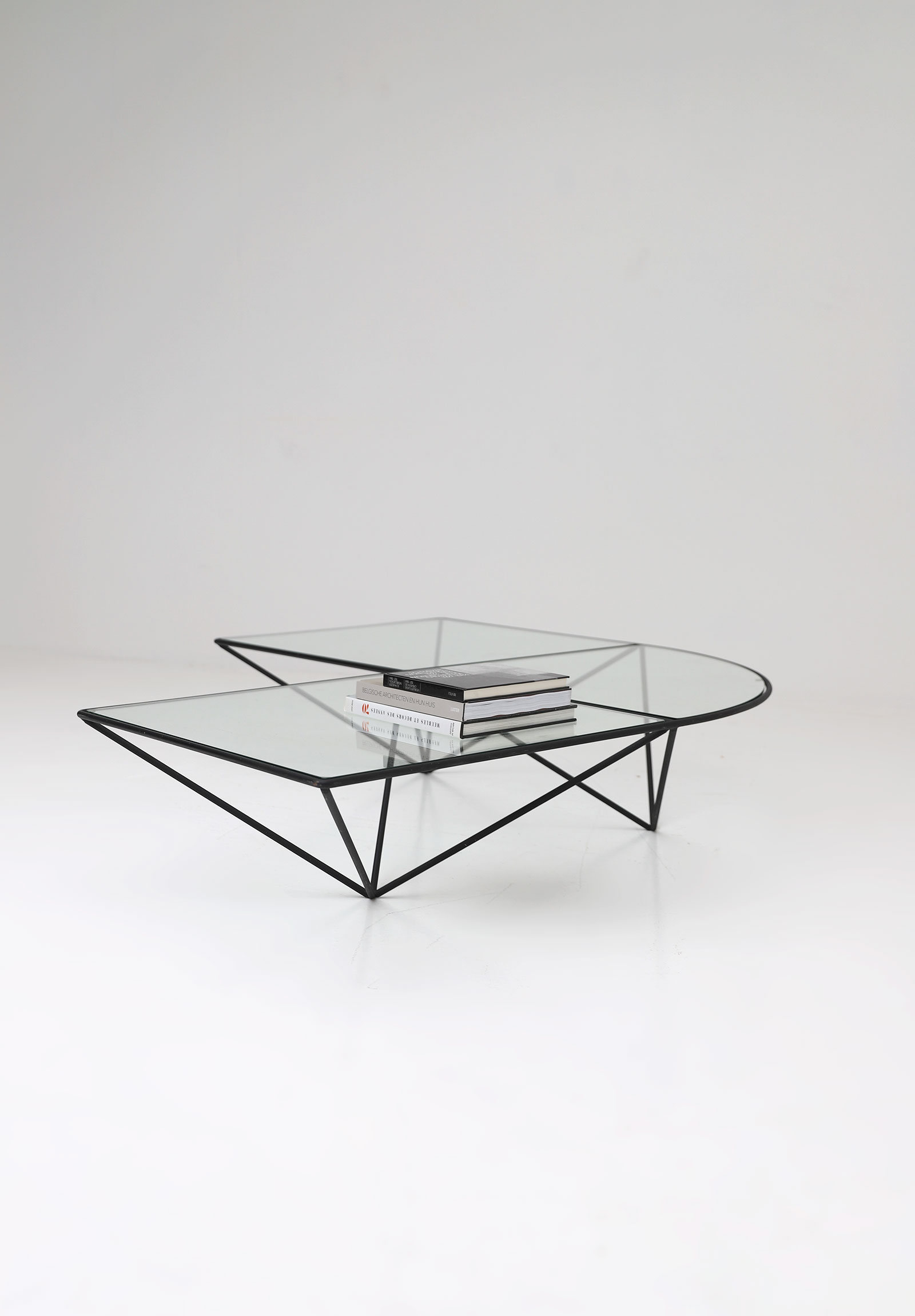 Glass corner coffee table Unknown, 1980simage 6