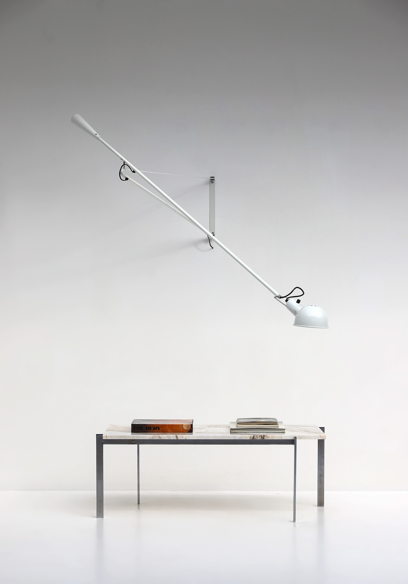 Paolo Rizzatto Arteluce Model 265 Wall Lamp Italy 1973image 1