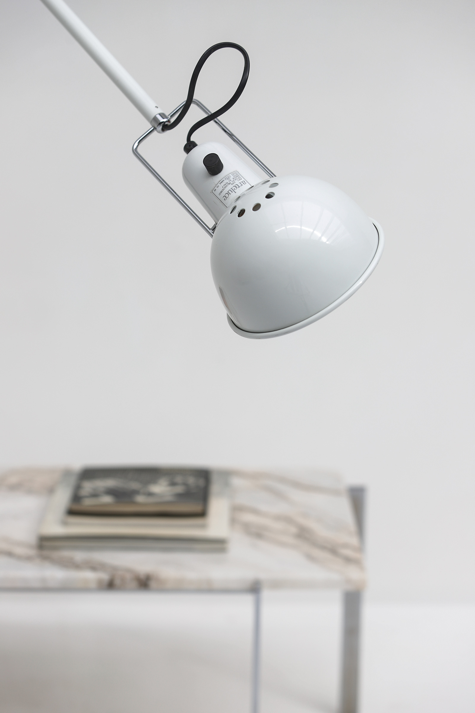 Paolo Rizzatto Arteluce Model 265 Wall Lamp Italy 1973image 3