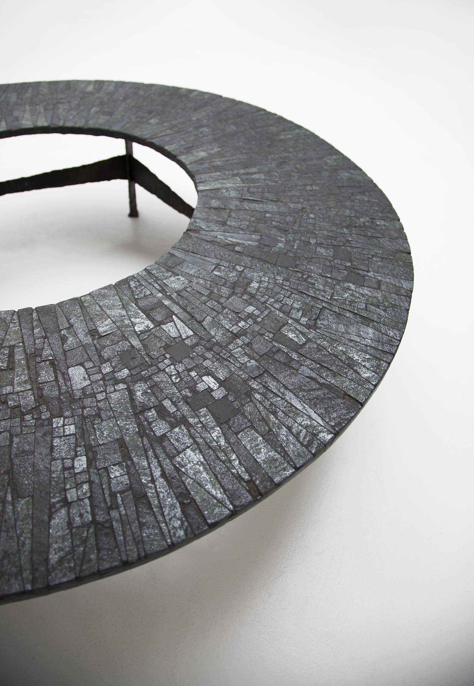 Pia Manu Circular Coffee Table