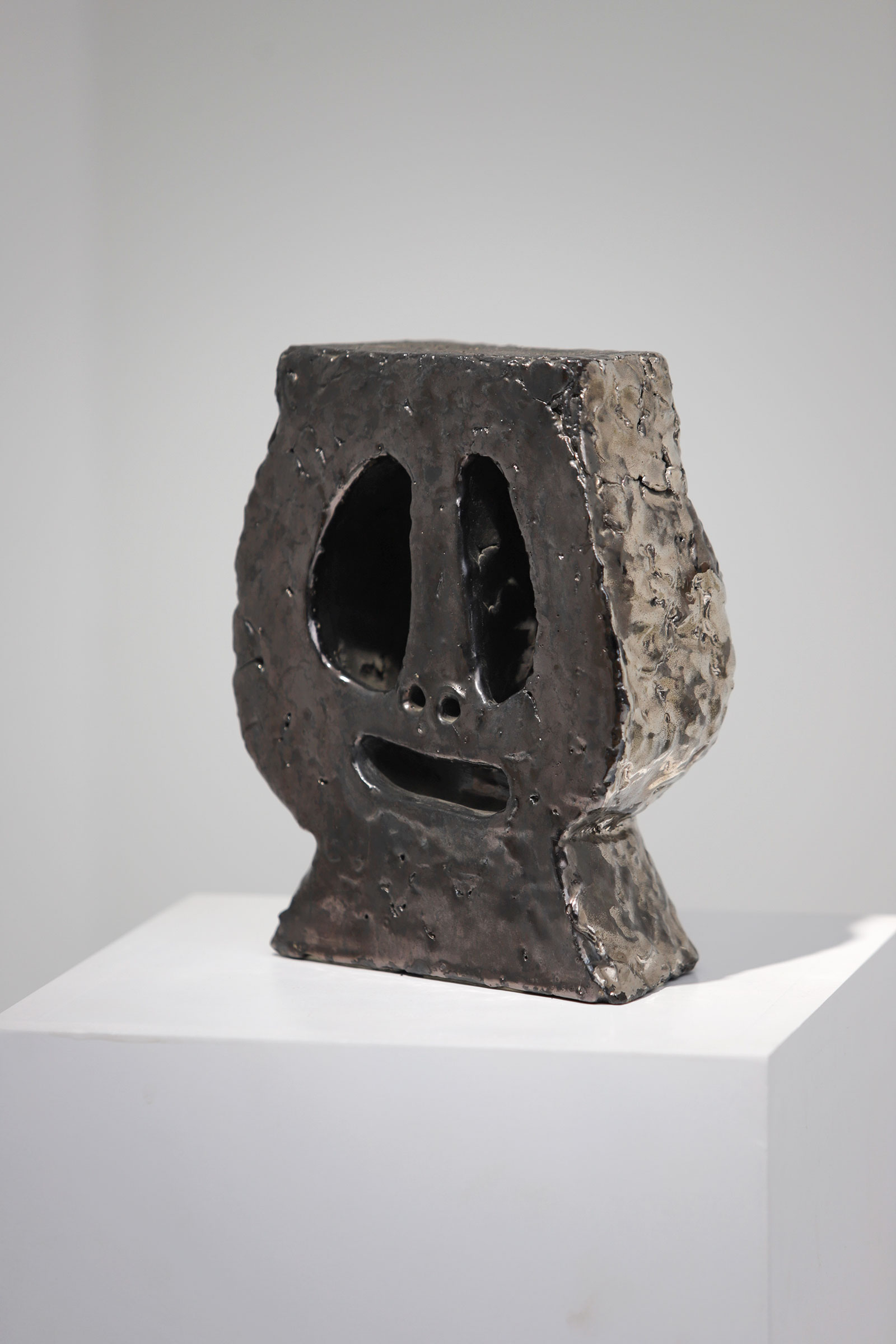 Pierre Caille Two Faced Ceramic 1964