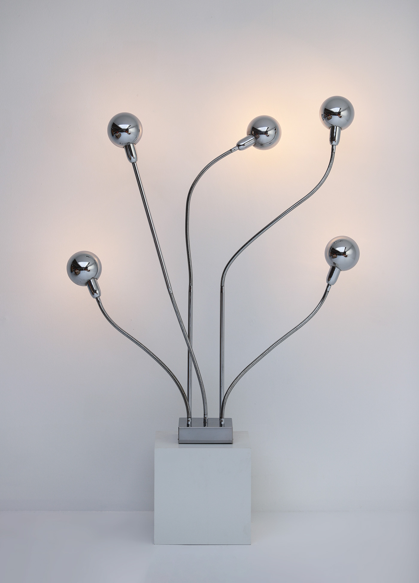 Pierre Folie Hydra floor lamp for Jacques Charpentierimage 2