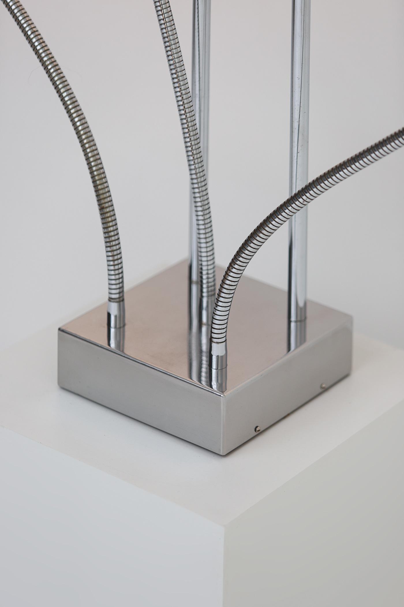 Pierre Folie Hydra floor lamp for Jacques Charpentierimage 5