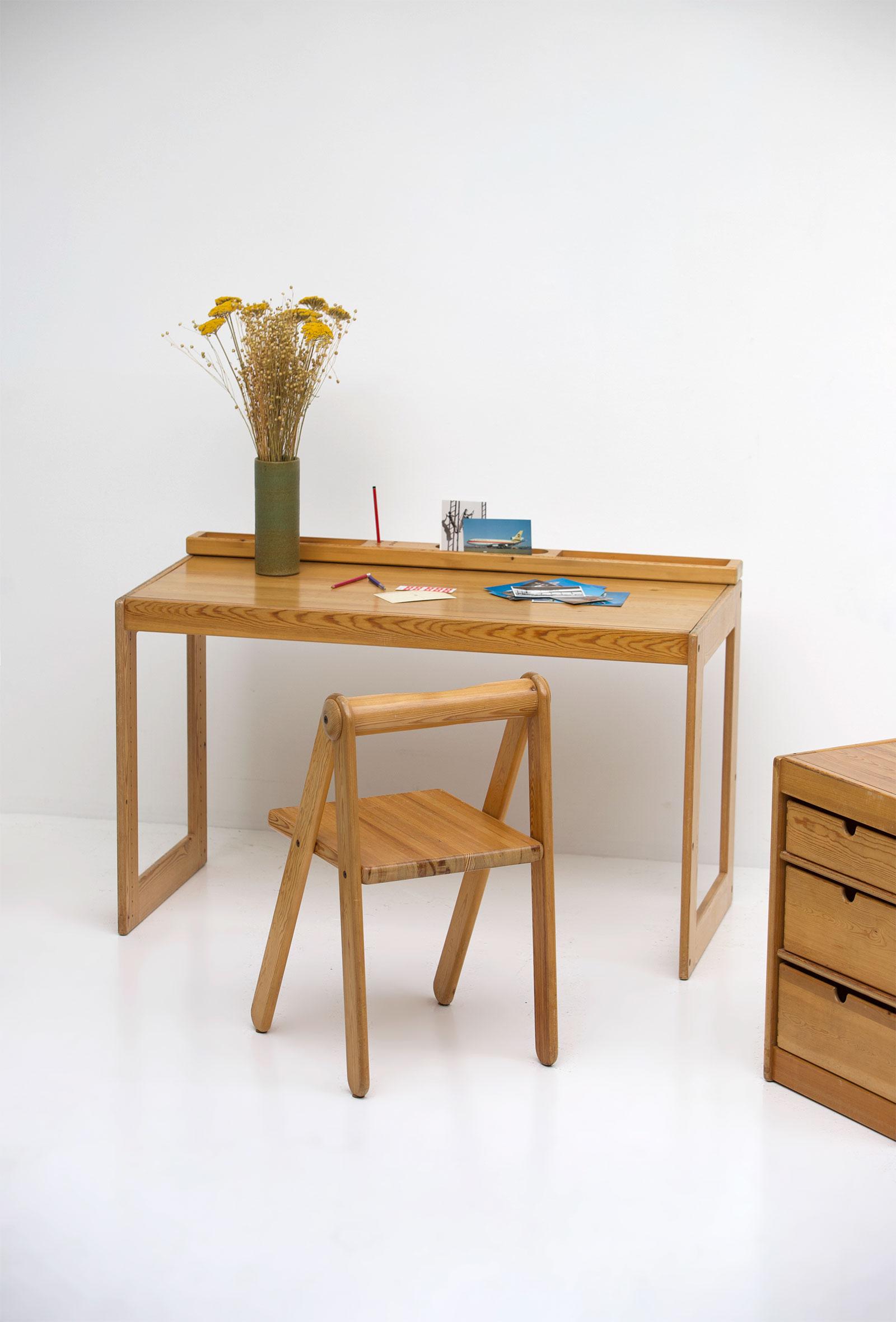Childrens desk furniture by Pierre Grosjean for Junior Design