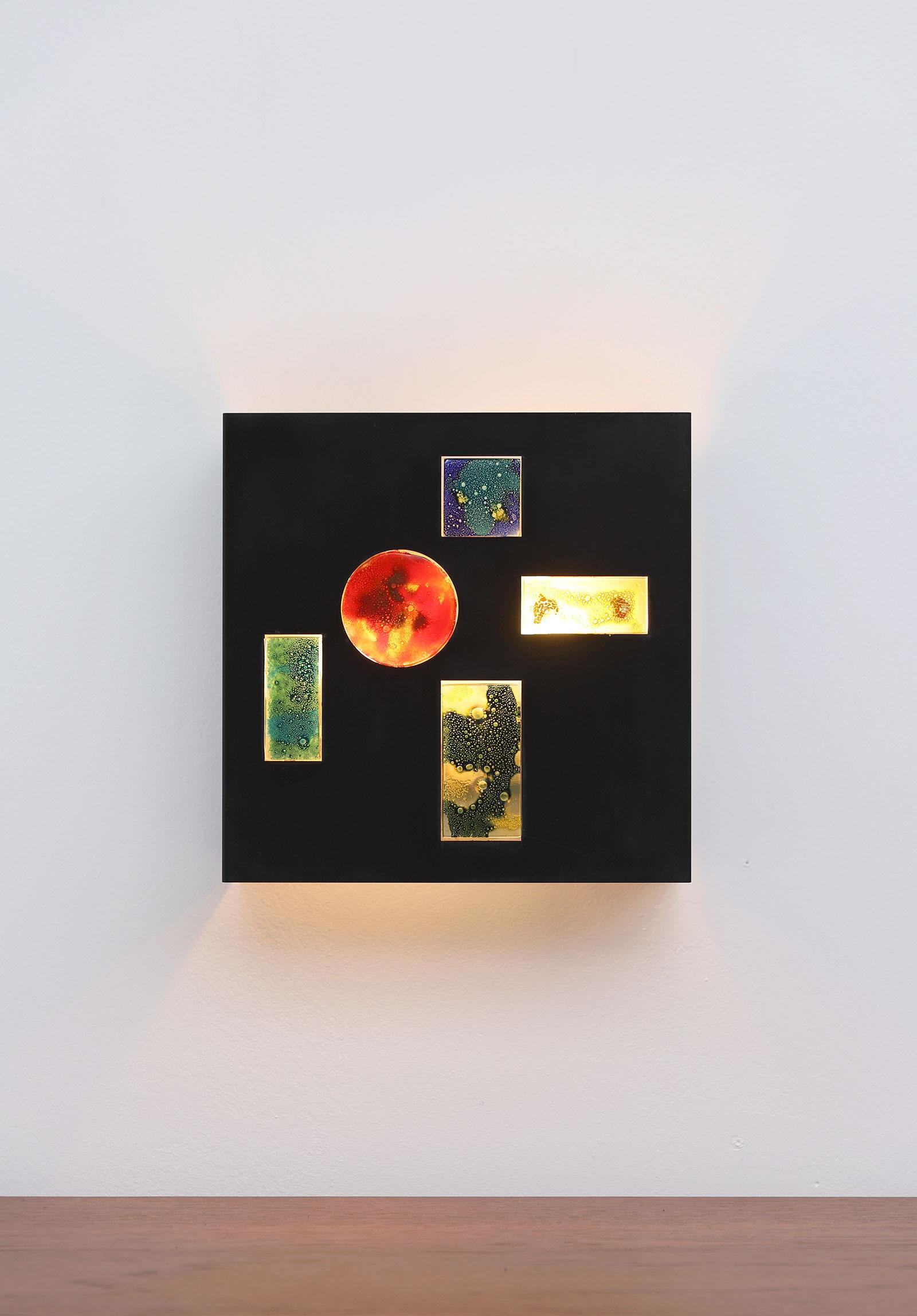 Minimalist wall lamp by Willem van Oyen for Raakimage 2