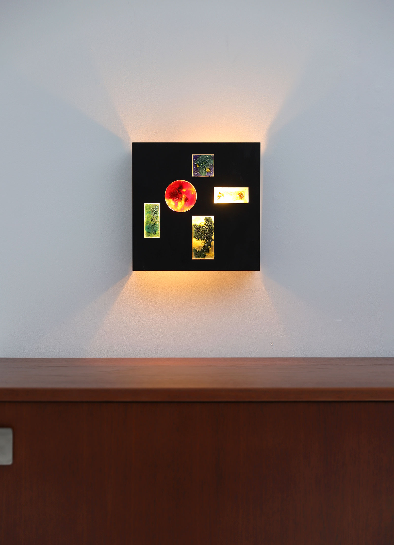 Minimalist wall lamp by Willem van Oyen for Raakimage 6