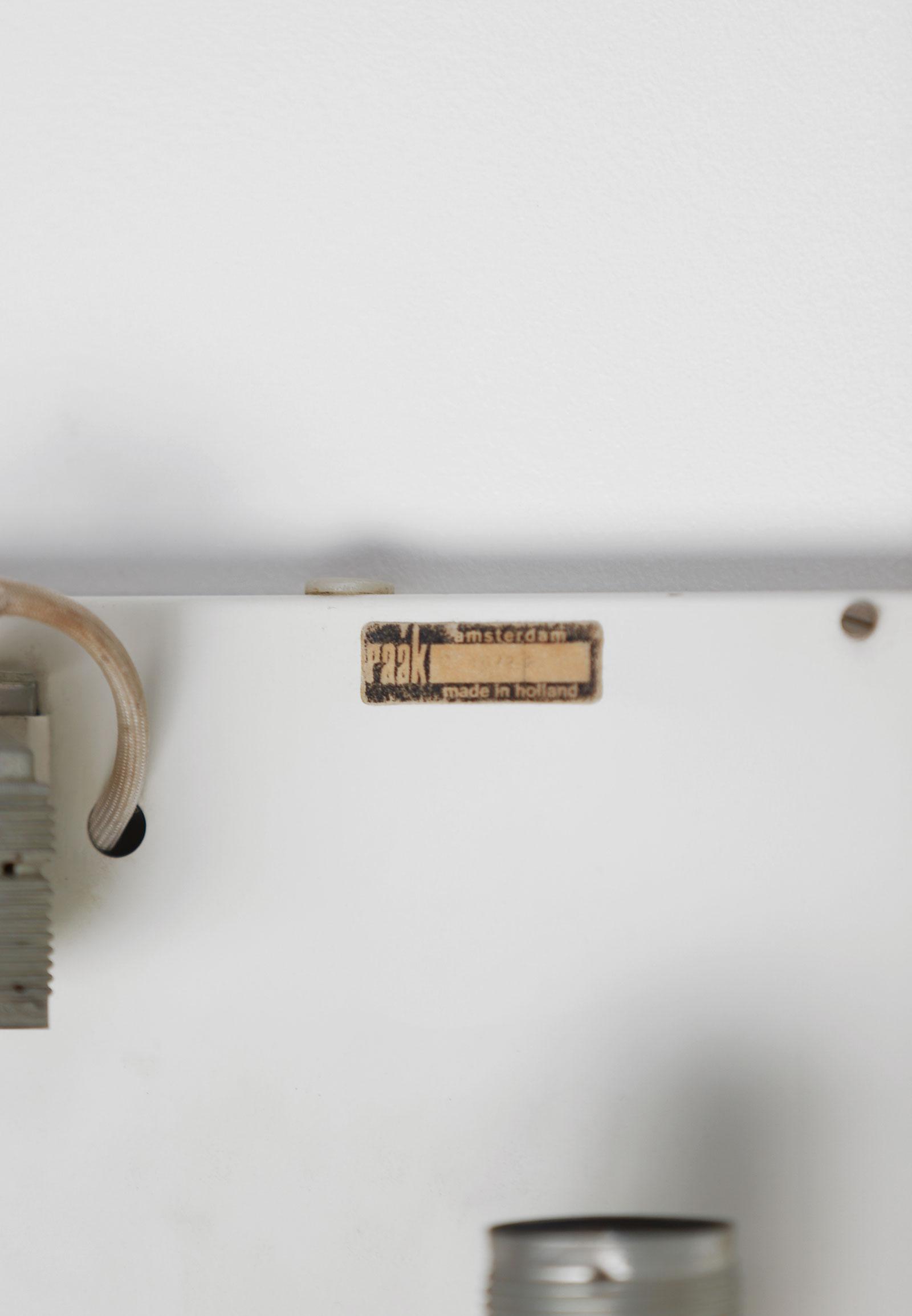 Minimalist wall lamp by Willem van Oyen for Raakimage 8