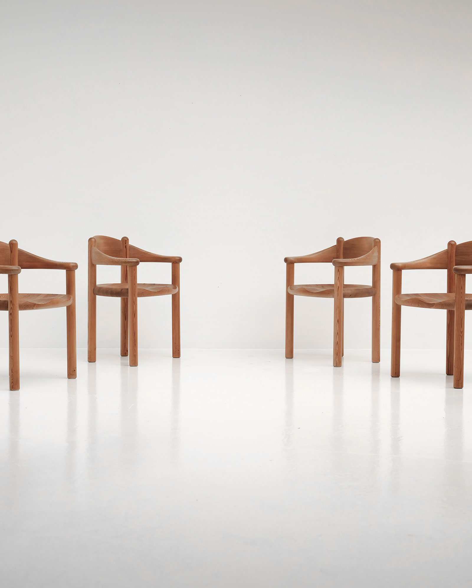 rainer daumiller for hirtshal sawmill 6 chairs