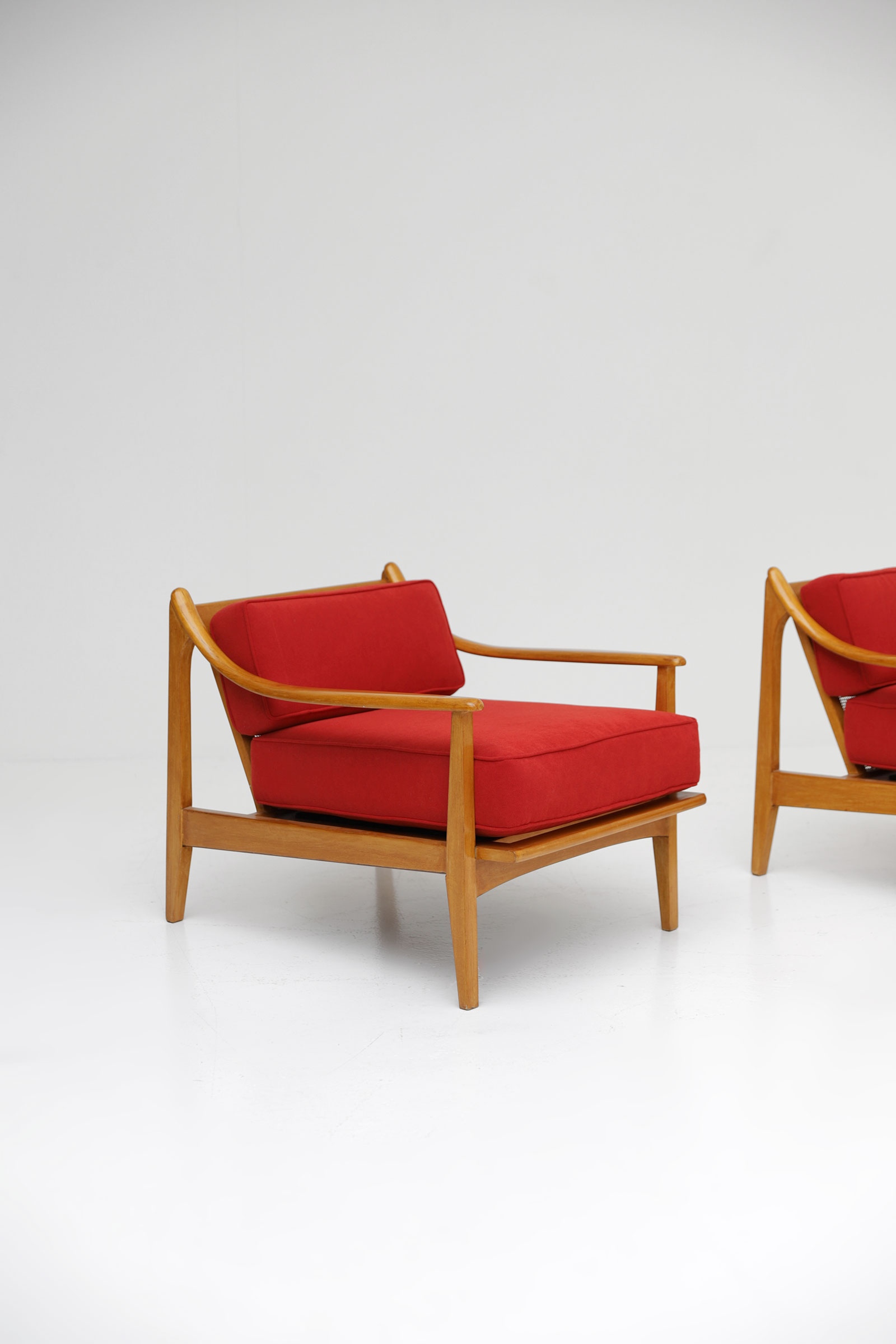 1960s 2 easy chairs Unknown