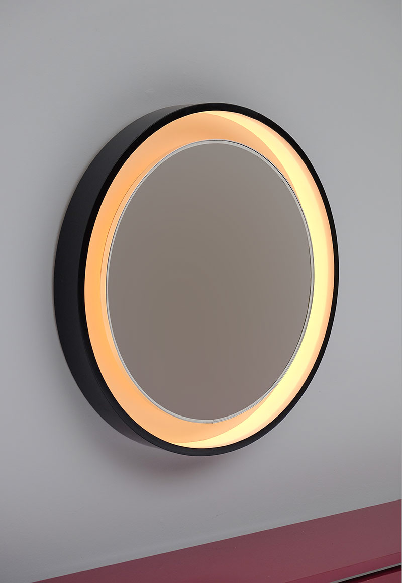 Large Decorative Round Mirror