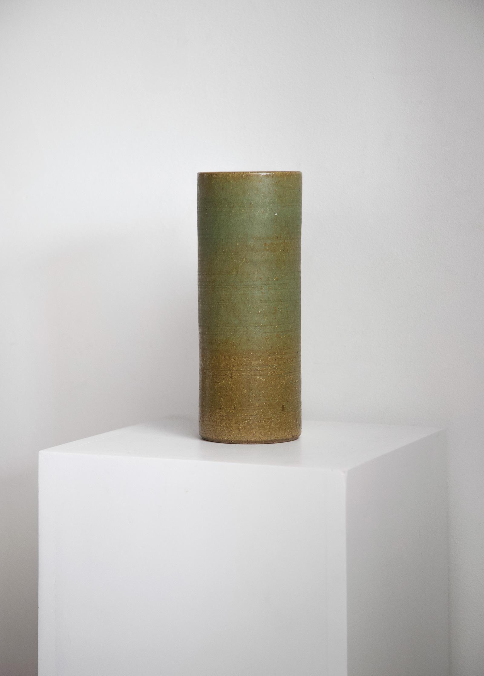 Rudi Stahl green vase