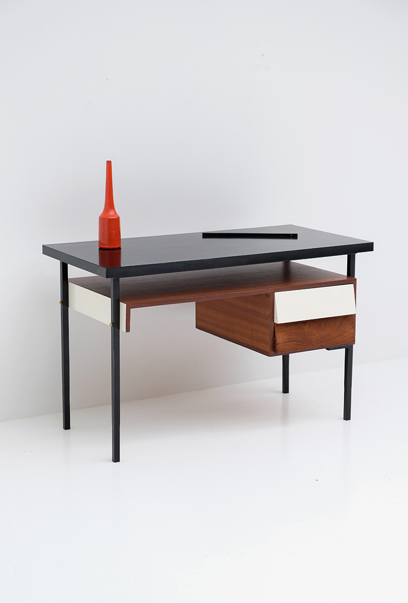 1950s desk with formica table topimage 1