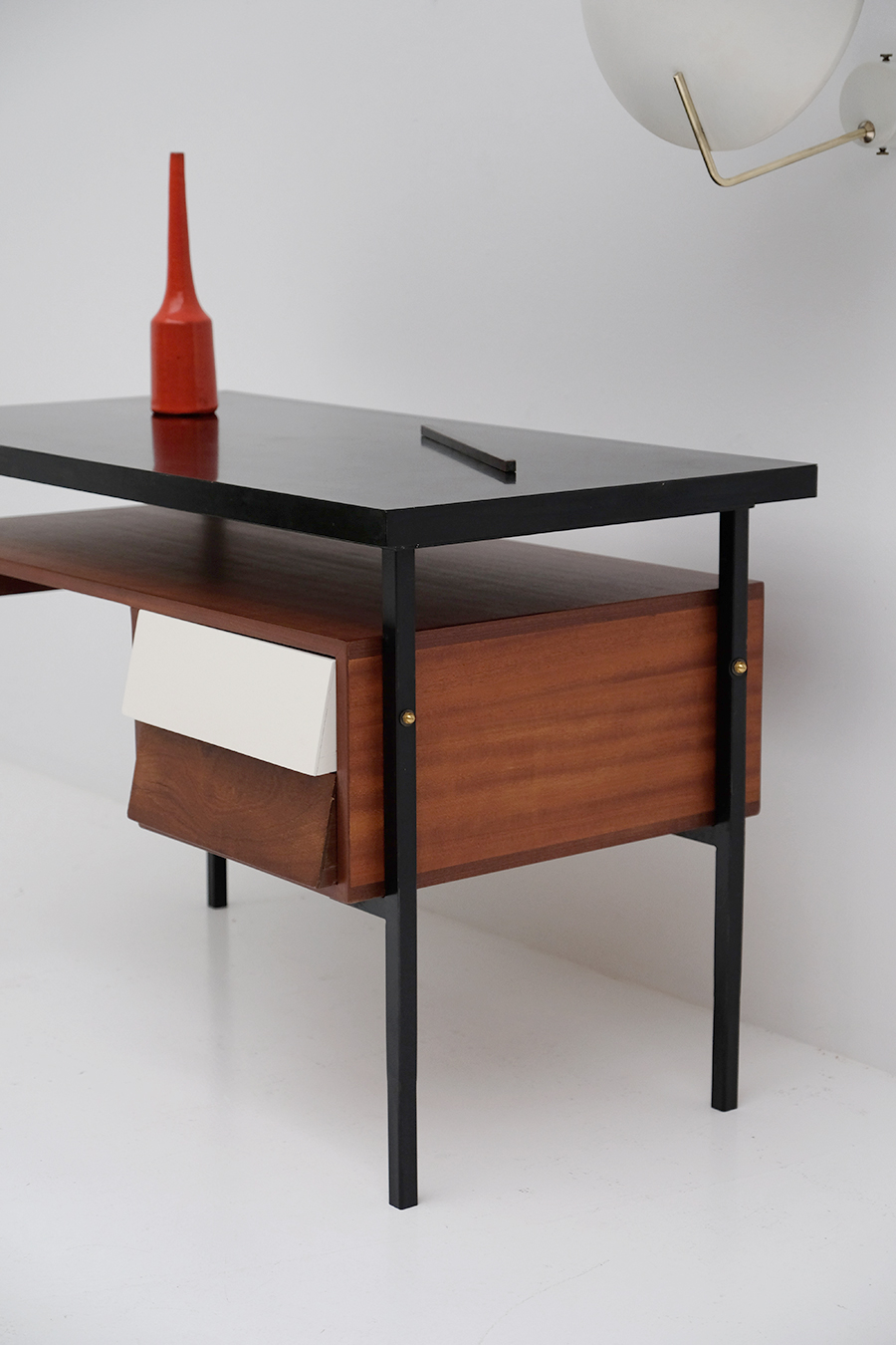 1950s desk with formica table top
