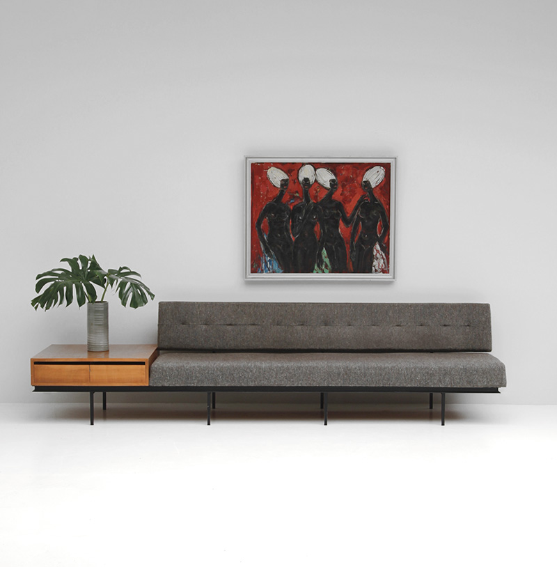 Sofa and Cabinet by Florence Knoll  image 1