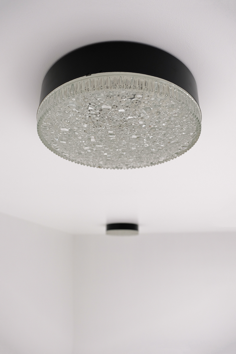 Large Flush Mount Fixtures by Staff 1960's