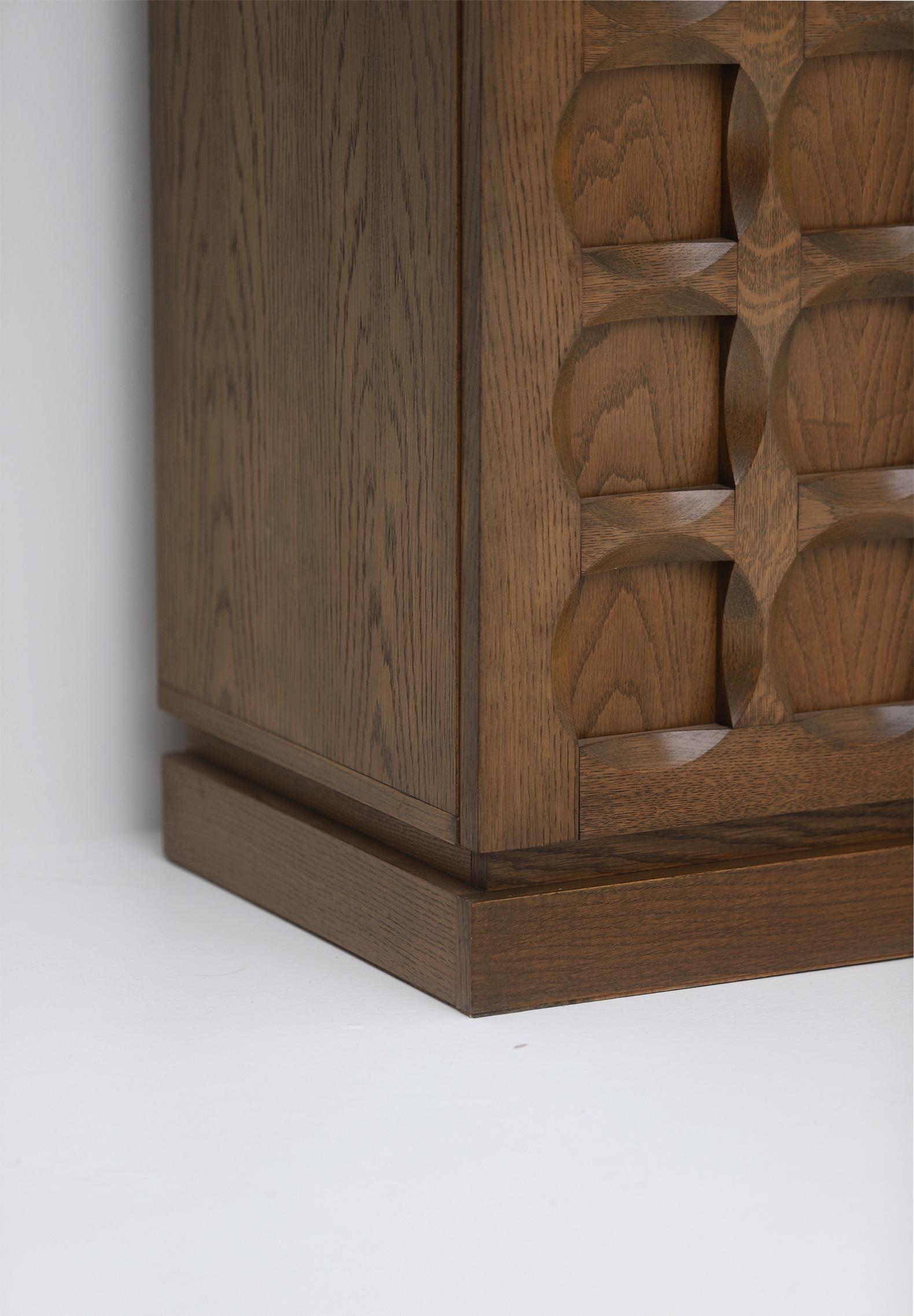 1970s Defour Cabinet Graphical Door Panels image 10