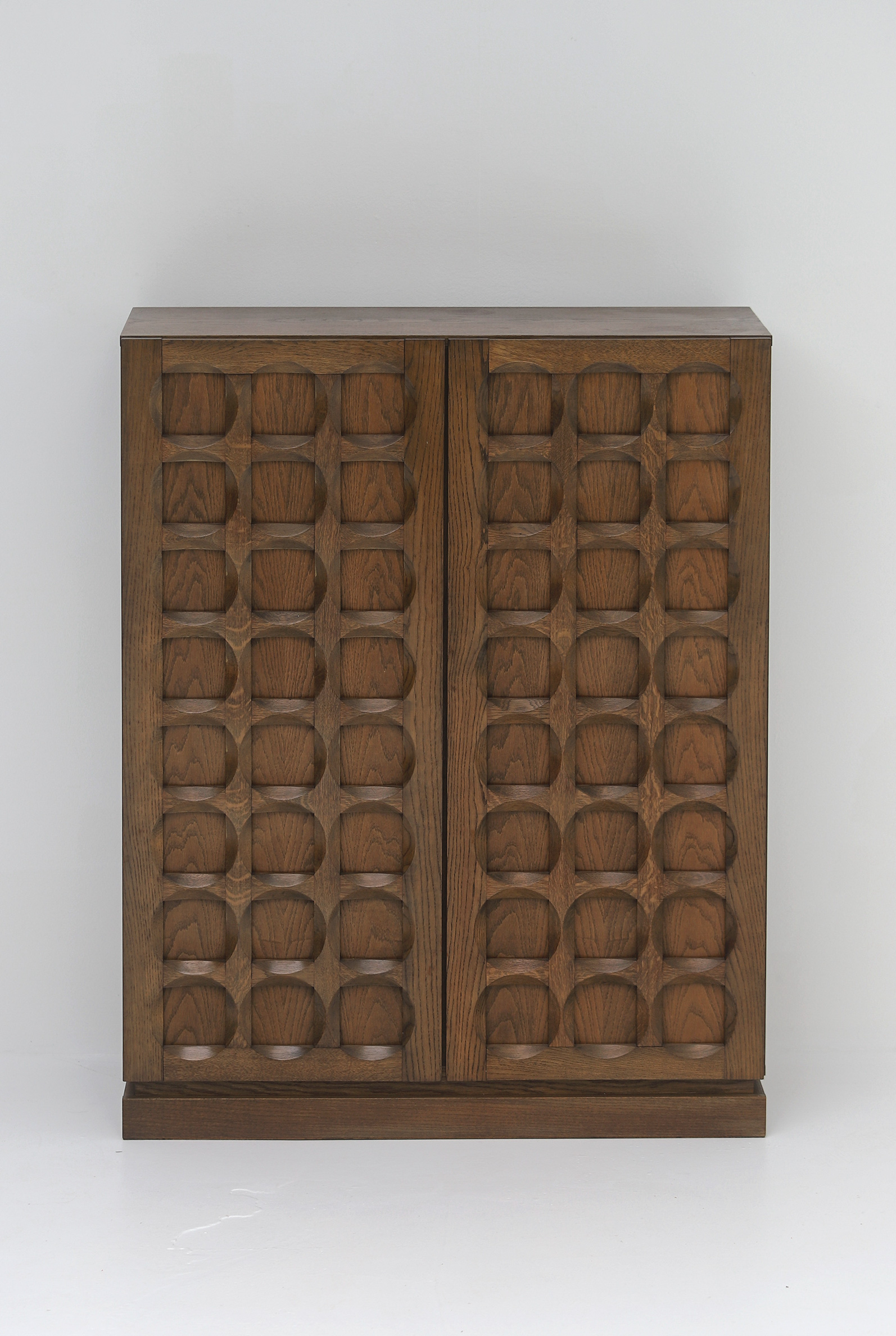 1970s Defour Cabinet Graphical Door Panels image 13
