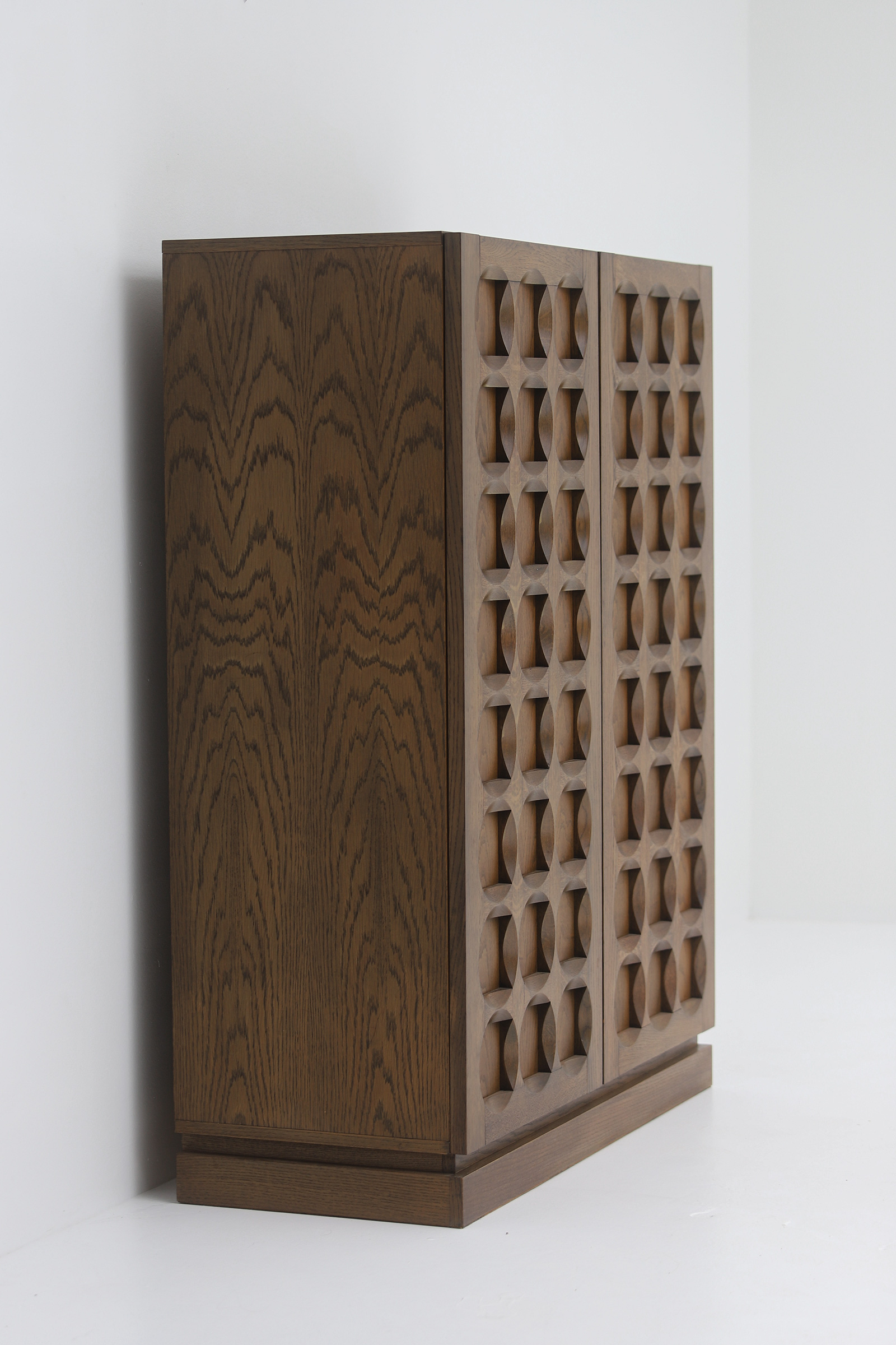 1970s Defour Cabinet Graphical Door Panels image 7