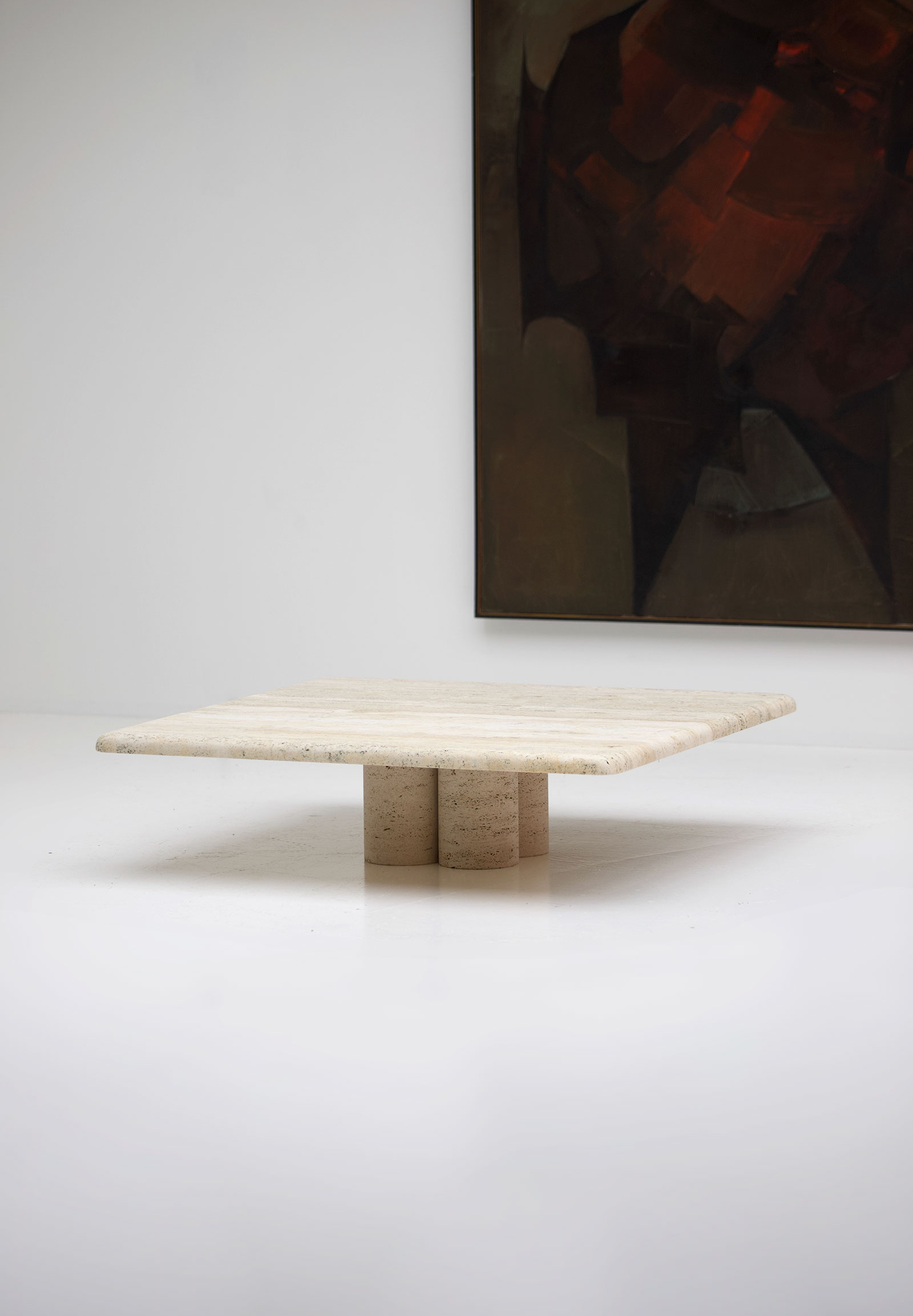Travertin Up & Up Coffee Table