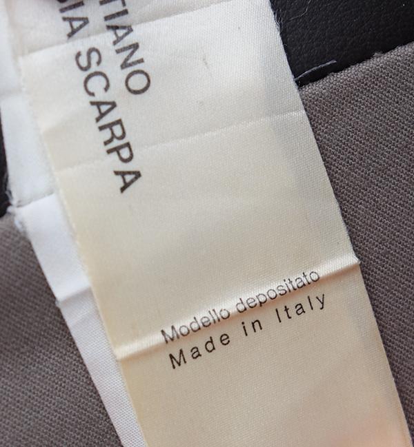 GAVINA TWO SEAT �BASTIANO� BY TOBIA SCARPA