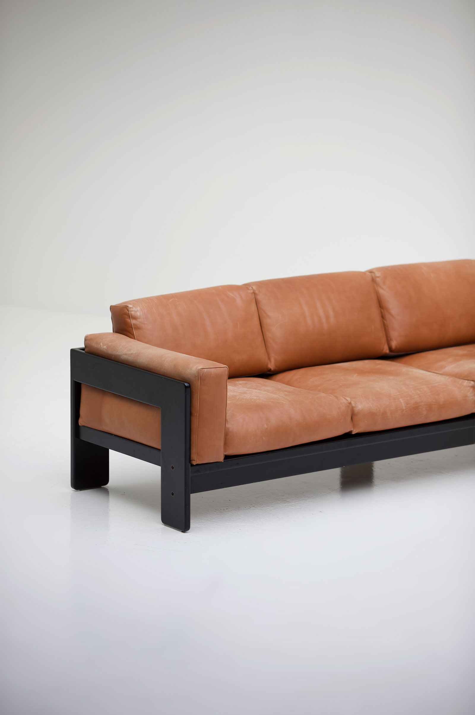 Tobia Scarpa Knoll  Four Seat Sofa