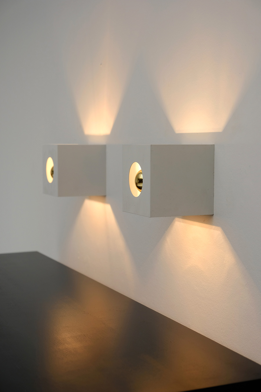PAIR OF PHILIPS WALL SCONCES 1960Simage 5