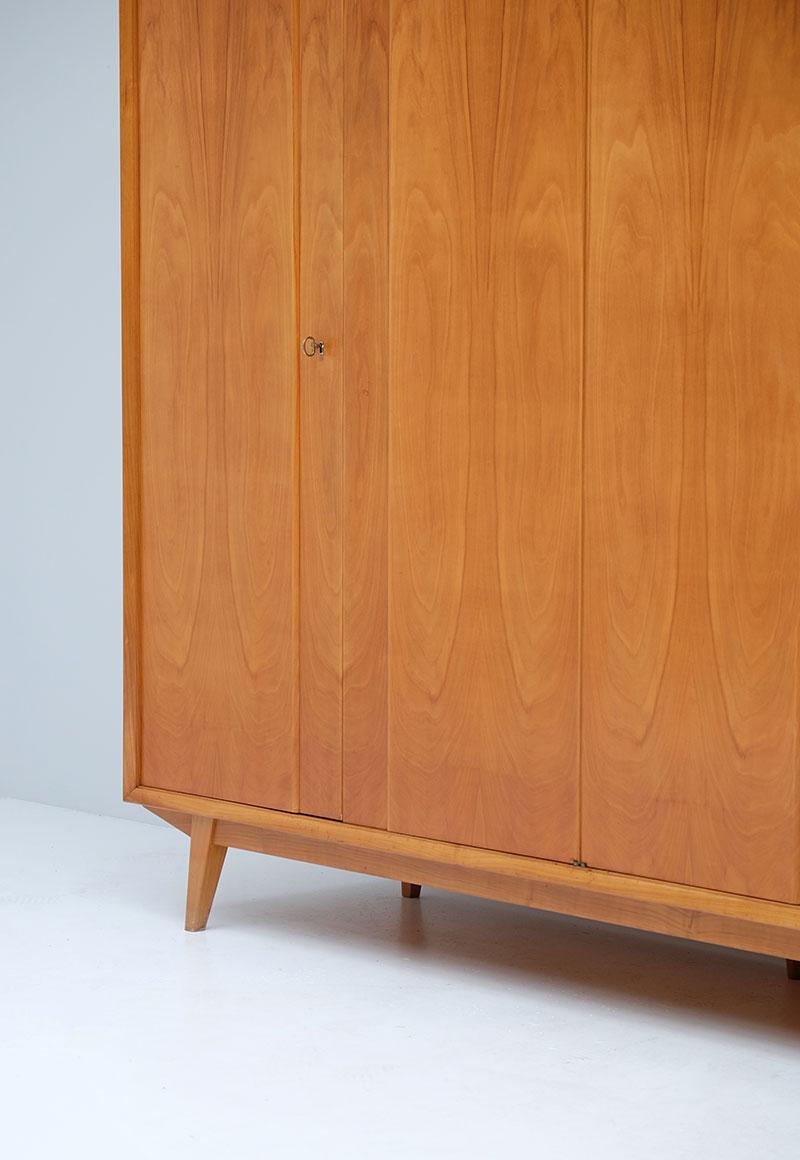 1950s wardrobe With Maple Doors