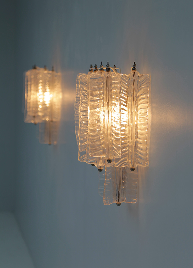 Pair of Venini Sconces