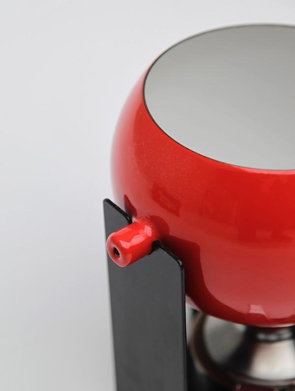 Mid-century teak, fondue set image 4