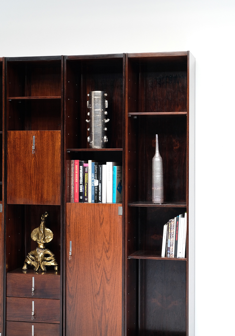 70s Double faced Bookcase / Room dividerimage 12