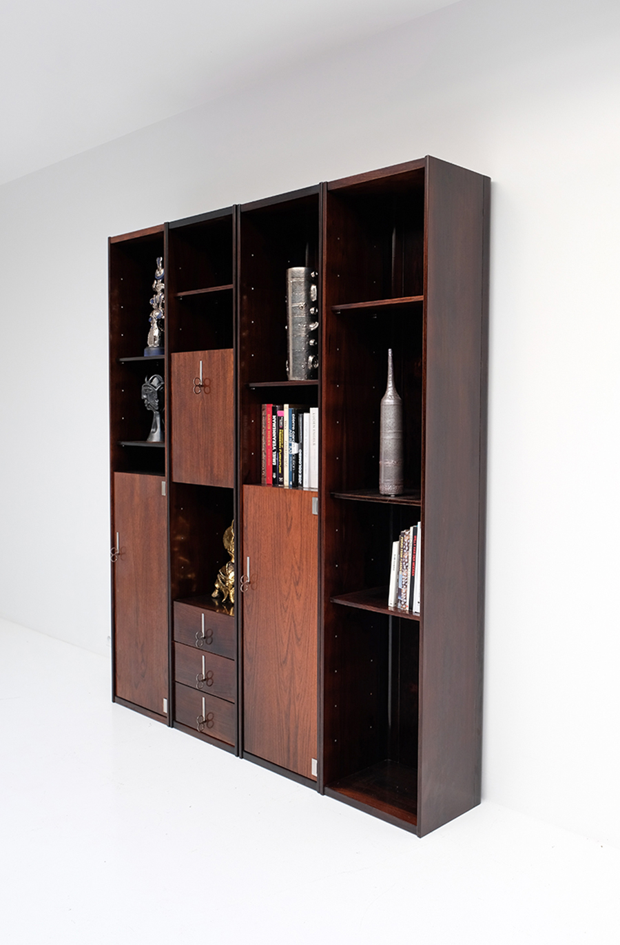 70s Double faced Bookcase / Room dividerimage 7